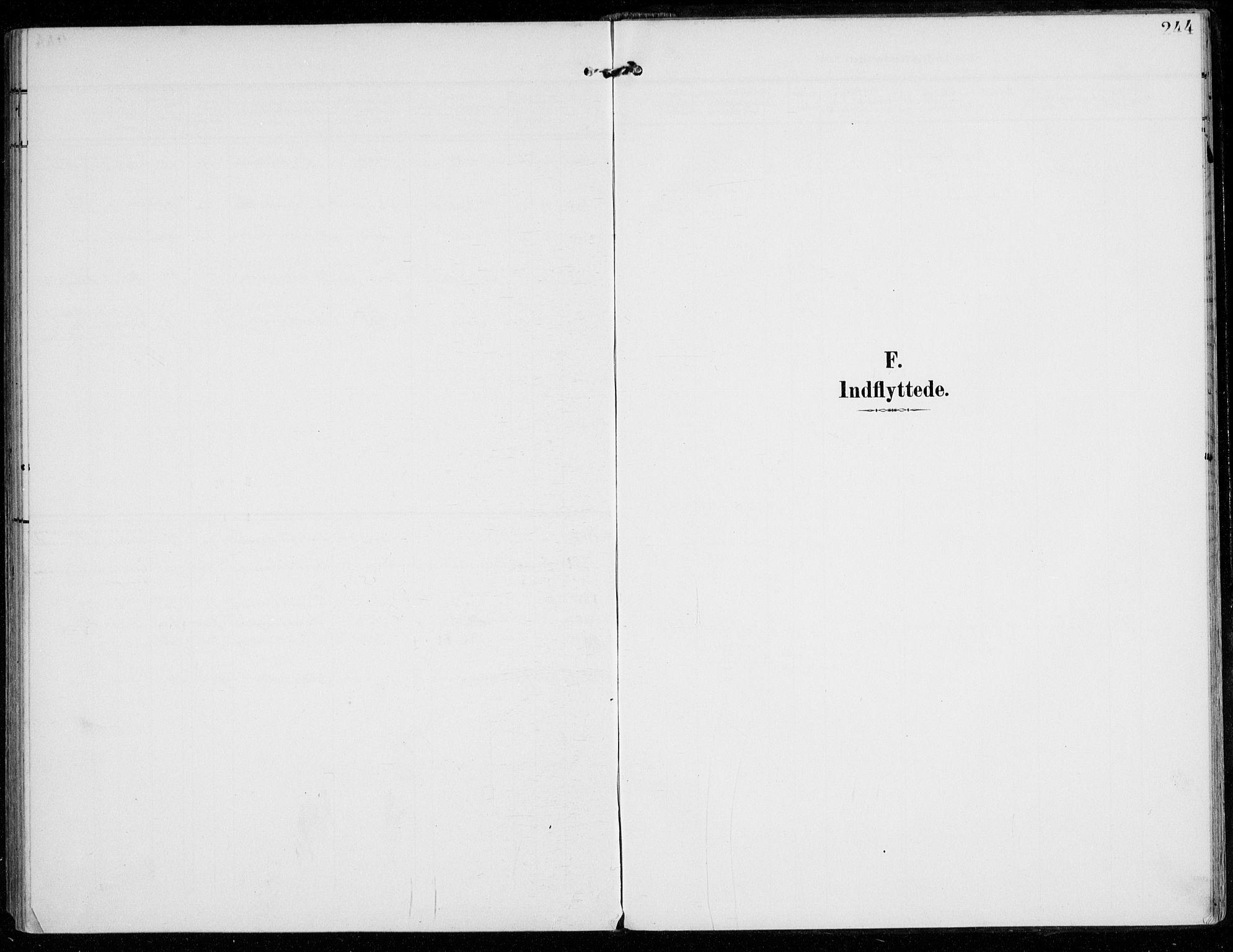 SAO, Vestby prestekontor Kirkebøker, F/Fc/L0002: Ministerialbok nr. III 2, 1906-1940, s. 244