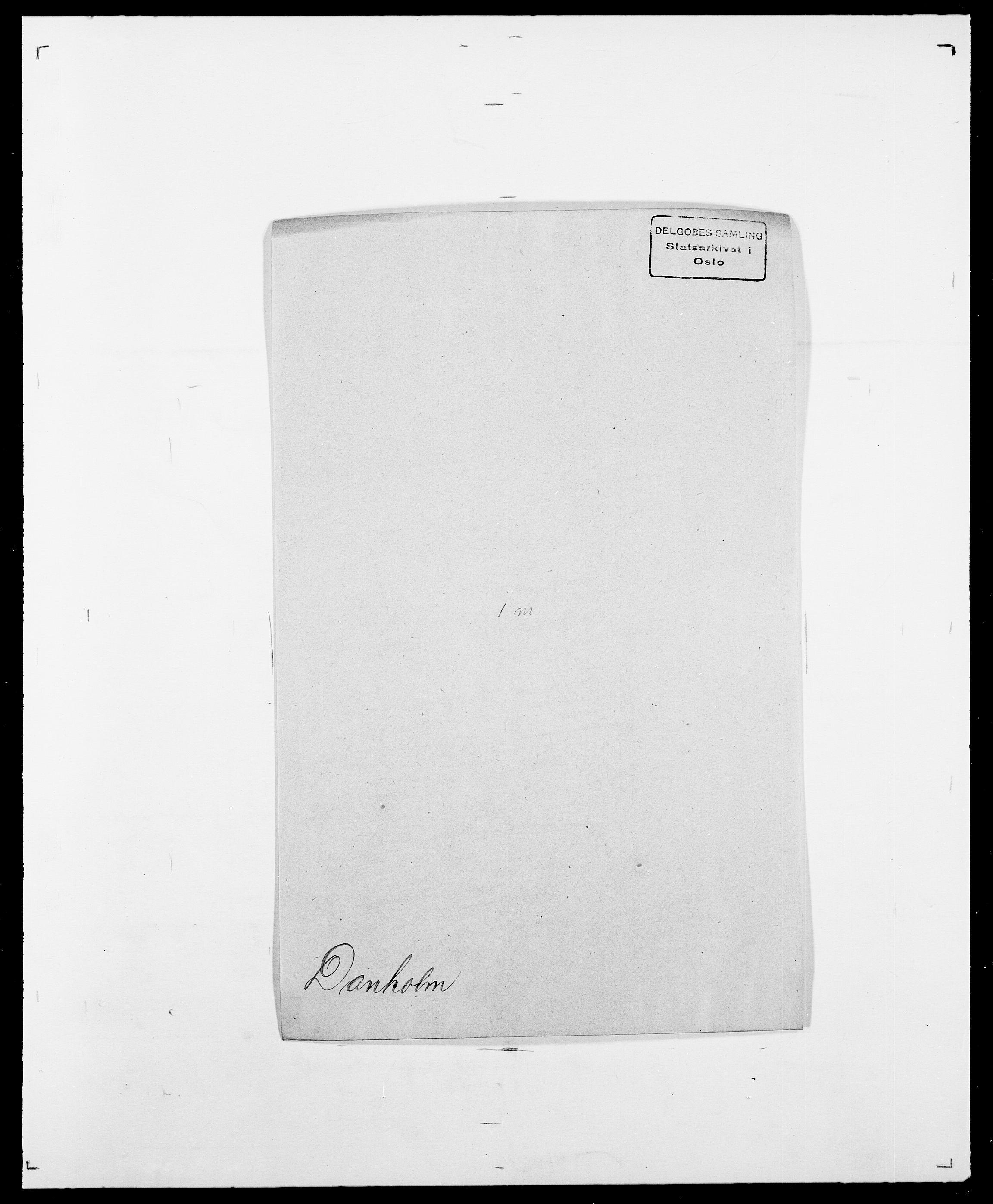 SAO, Delgobe, Charles Antoine - samling, D/Da/L0009: Dahl - v. Düren, s. 301