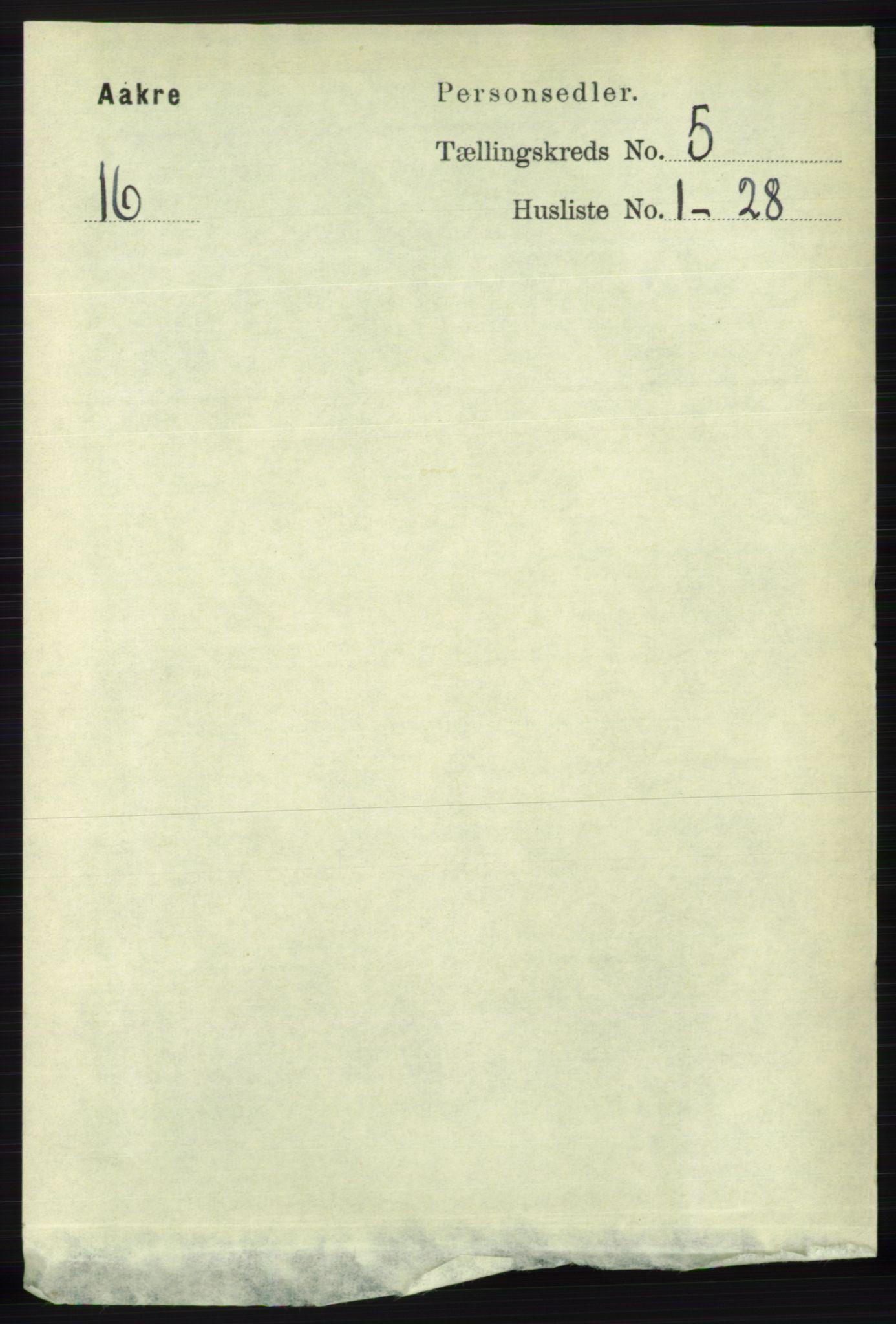 RA, Folketelling 1891 for 1150 Skudenes herred, 1891, s. 5230