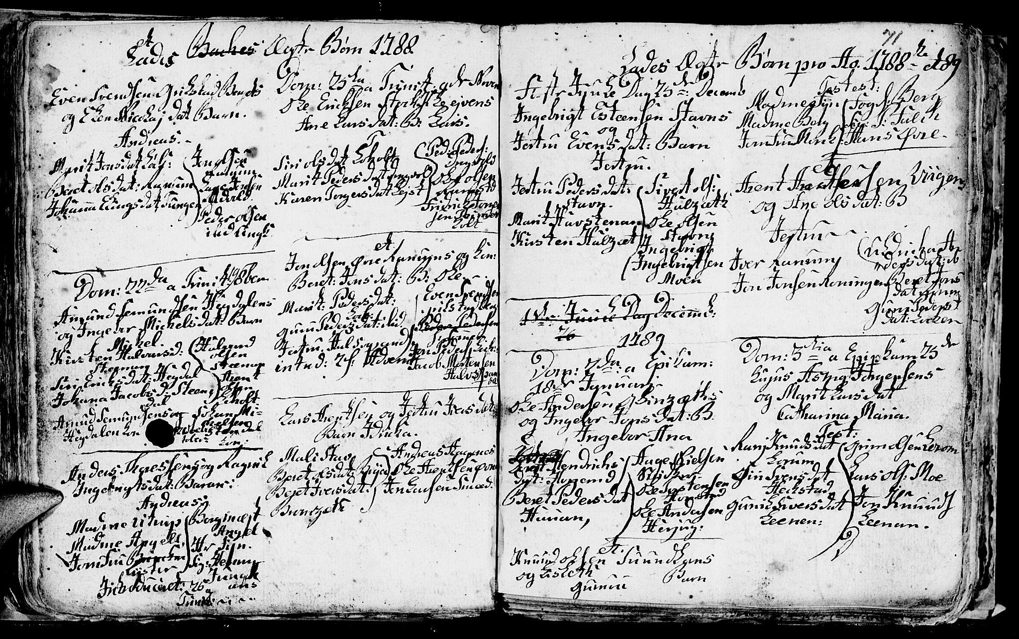 SAT, Ministerialprotokoller, klokkerbøker og fødselsregistre - Sør-Trøndelag, 606/L0305: Klokkerbok nr. 606C01, 1757-1819, s. 71
