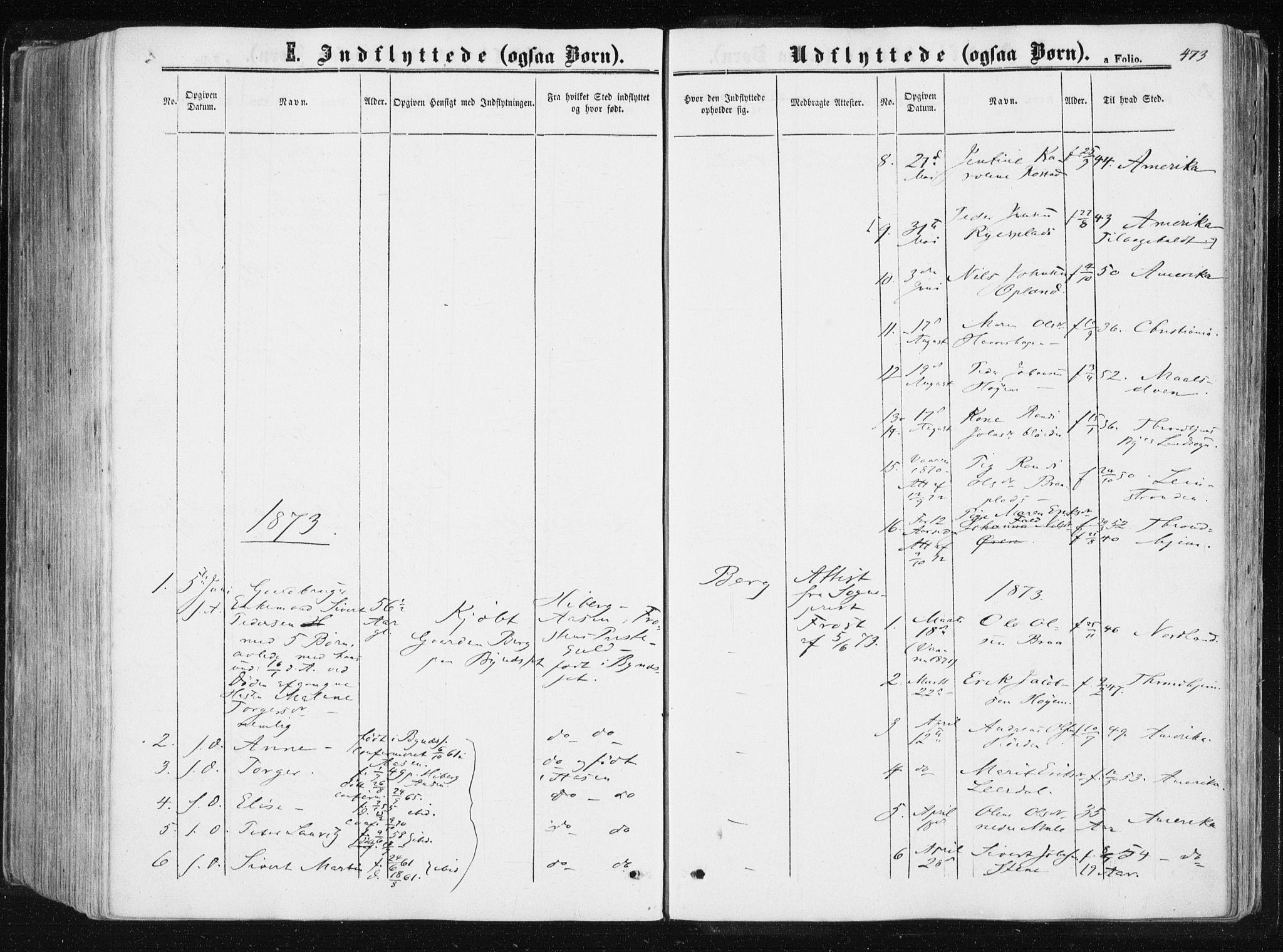 SAT, Ministerialprotokoller, klokkerbøker og fødselsregistre - Sør-Trøndelag, 612/L0377: Ministerialbok nr. 612A09, 1859-1877, s. 473