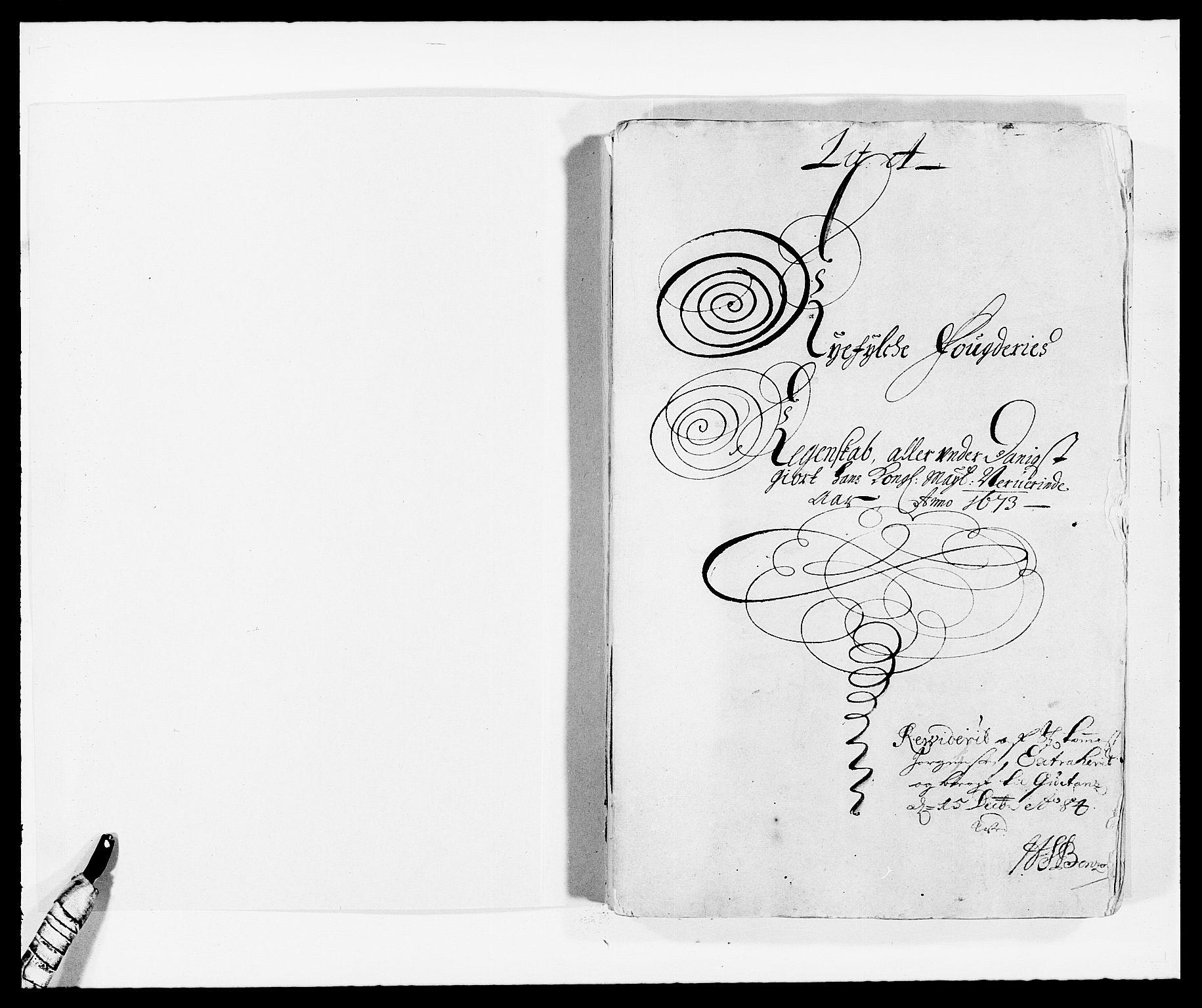 RA, Rentekammeret inntil 1814, Reviderte regnskaper, Fogderegnskap, R47/L2844: Fogderegnskap Ryfylke, 1672-1673, s. 130