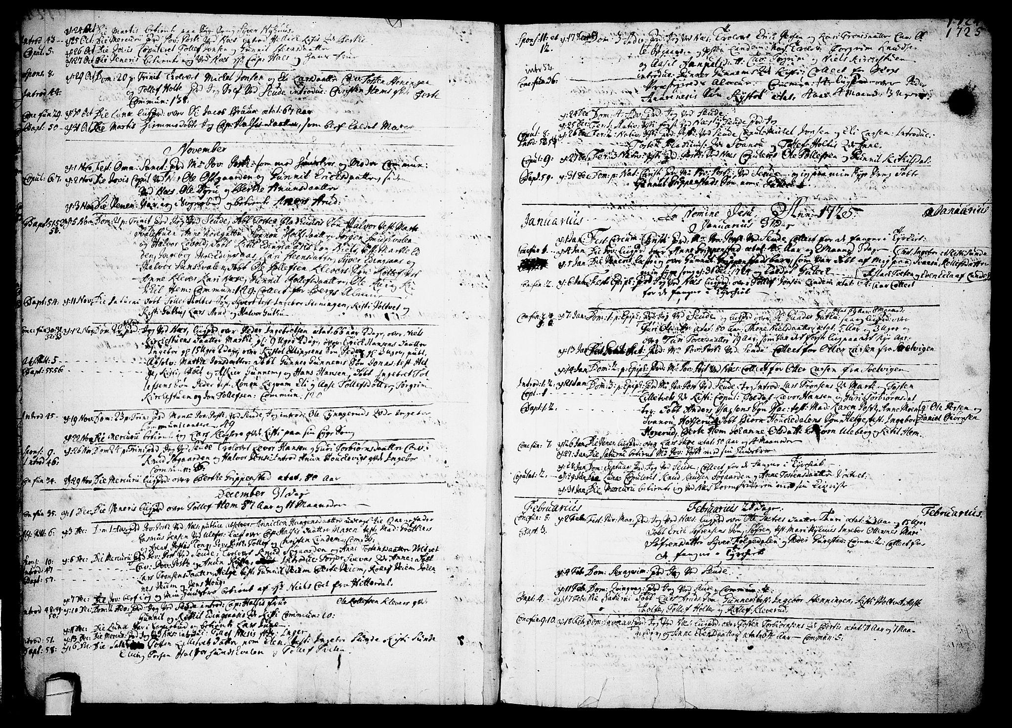 SAKO, Sauherad kirkebøker, F/Fa/L0003: Ministerialbok nr. I 3, 1722-1766