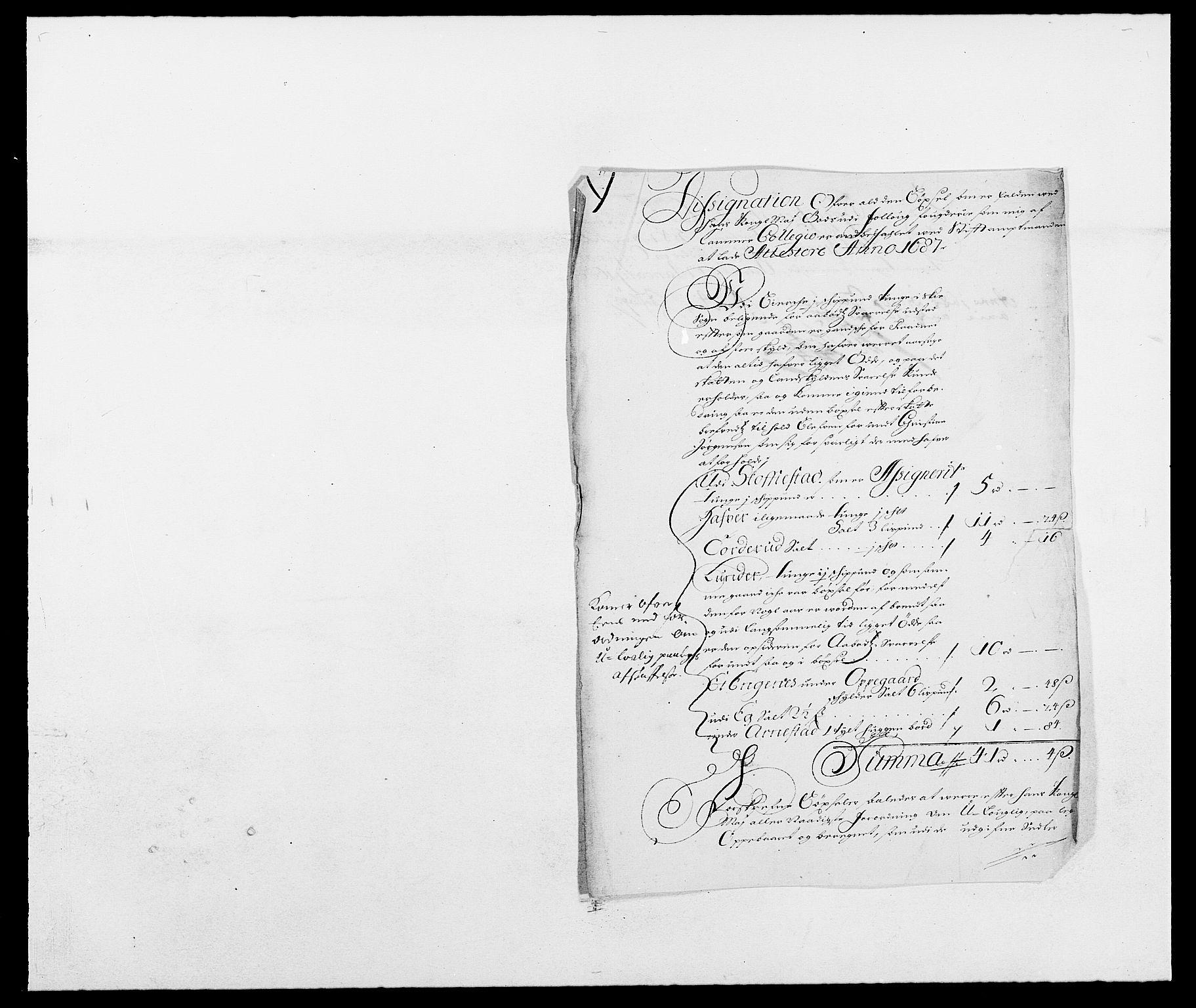 RA, Rentekammeret inntil 1814, Reviderte regnskaper, Fogderegnskap, R09/L0434: Fogderegnskap Follo, 1687-1688, s. 14
