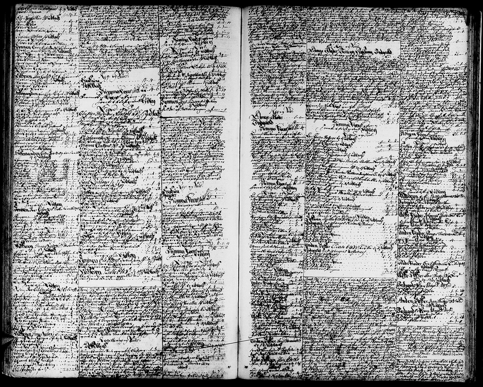 SAB, Indre Sogn sorenskriveri, H/Ha/L0010: Skifteprotokoll 10, 1786-1794, s. 232b-233a