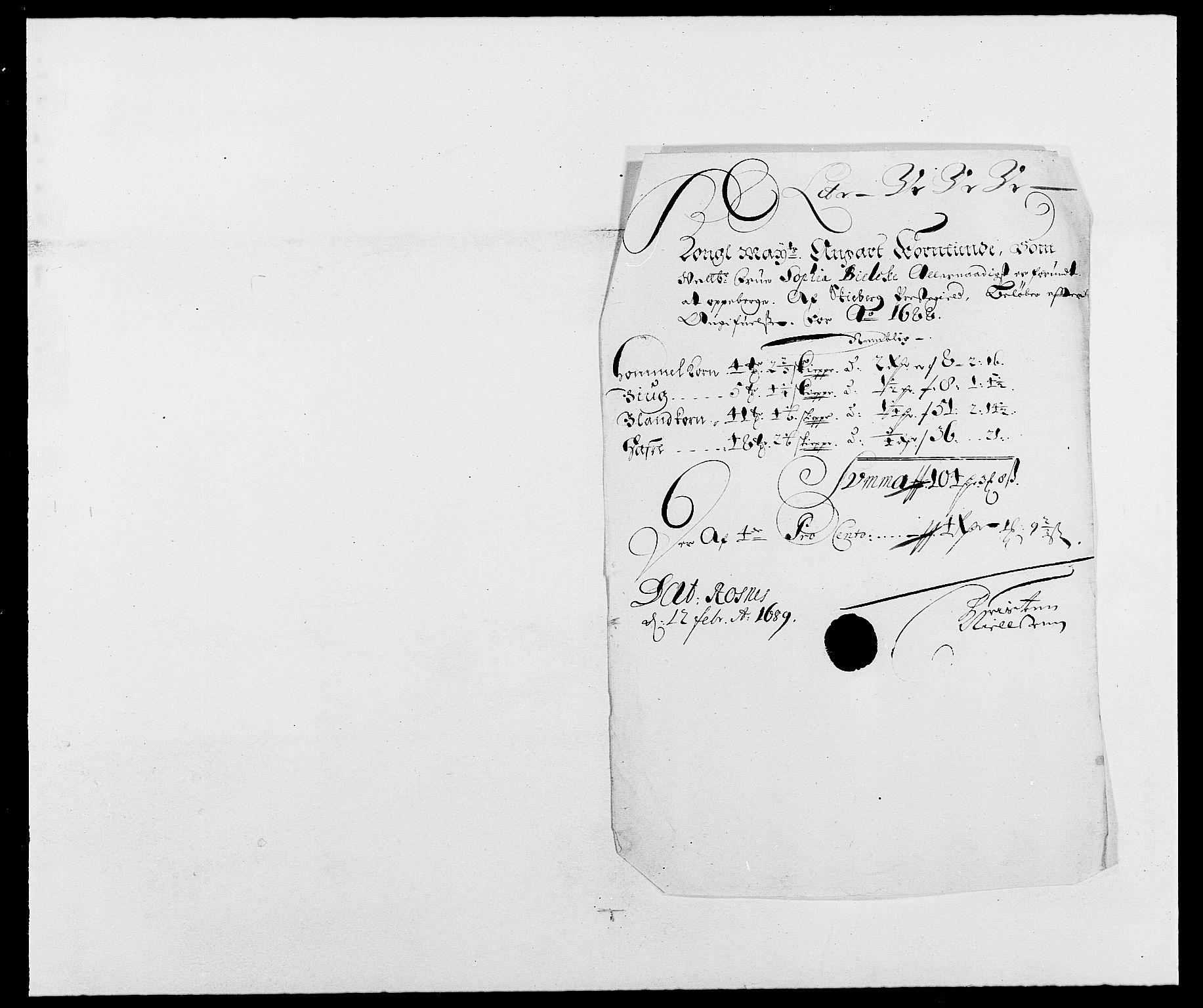 RA, Rentekammeret inntil 1814, Reviderte regnskaper, Fogderegnskap, R01/L0007: Fogderegnskap Idd og Marker, 1687-1688, s. 347