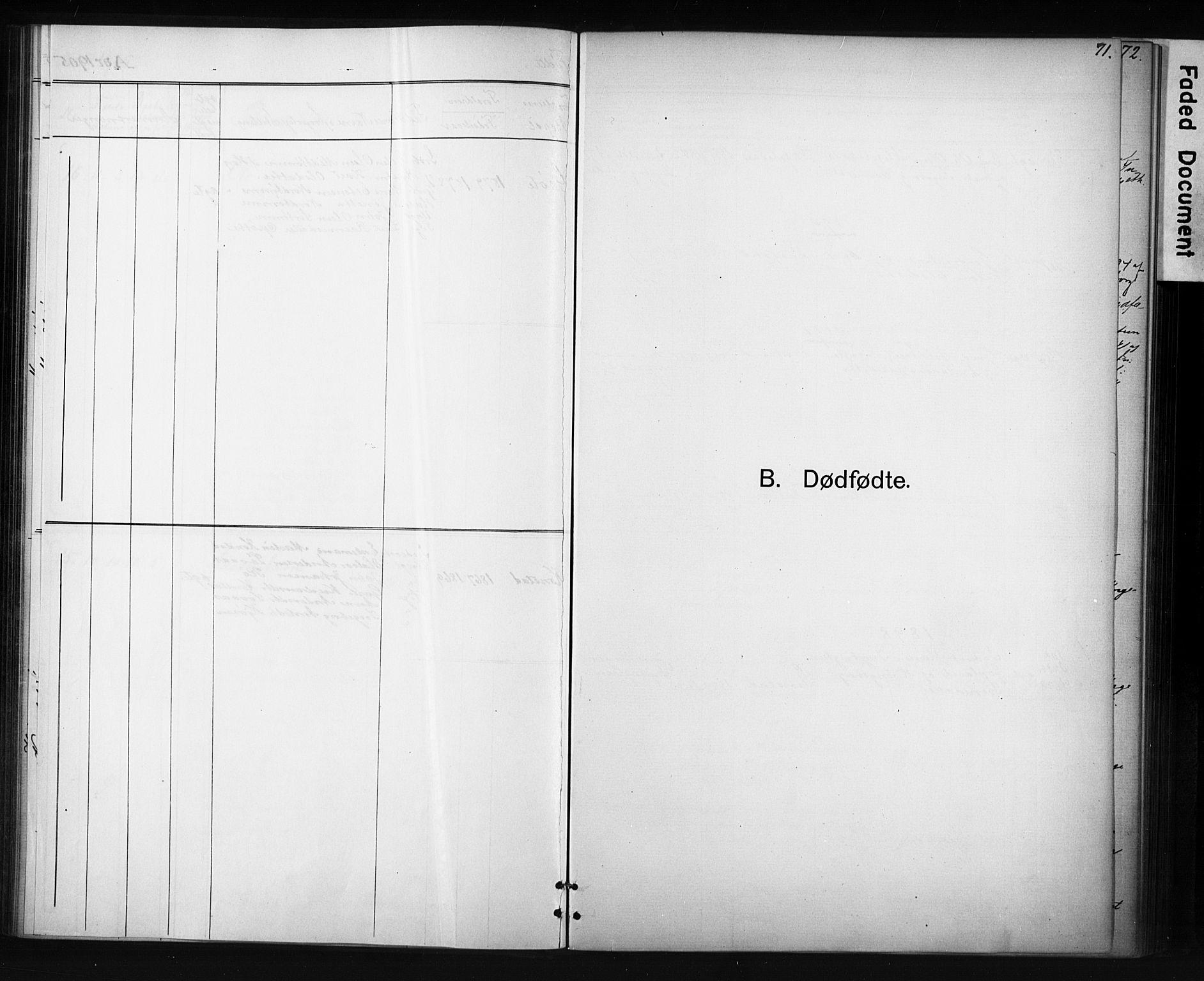 SAT, Ministerialprotokoller, klokkerbøker og fødselsregistre - Sør-Trøndelag, 694/L1127: Ministerialbok nr. 694A01, 1887-1905, s. 71
