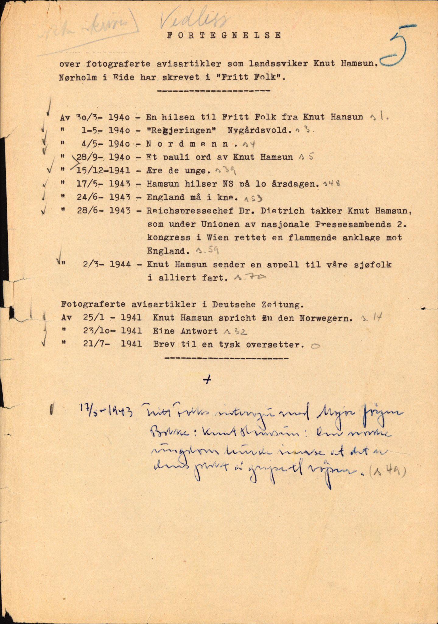 RA, Landssvikarkivet, Arendal politikammer, D/Dc/L0029: Anr. 192/45, 1945-1951, s. 52