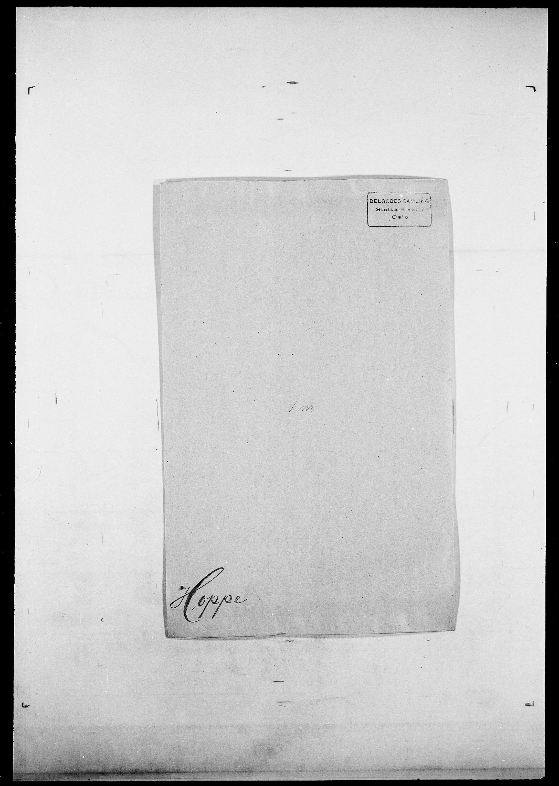 SAO, Delgobe, Charles Antoine - samling, D/Da/L0018: Hoch - Howert, s. 930