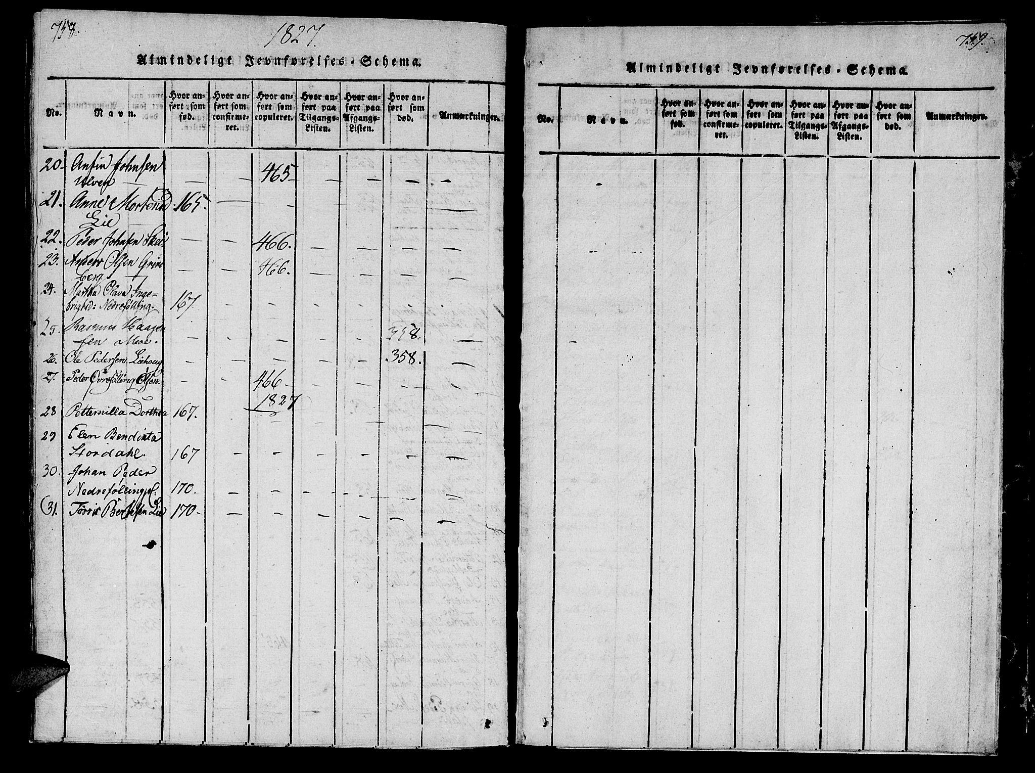 SAT, Ministerialprotokoller, klokkerbøker og fødselsregistre - Nord-Trøndelag, 746/L0441: Ministerialbok nr. 746A03 /4, 1816-1827, s. 758-759