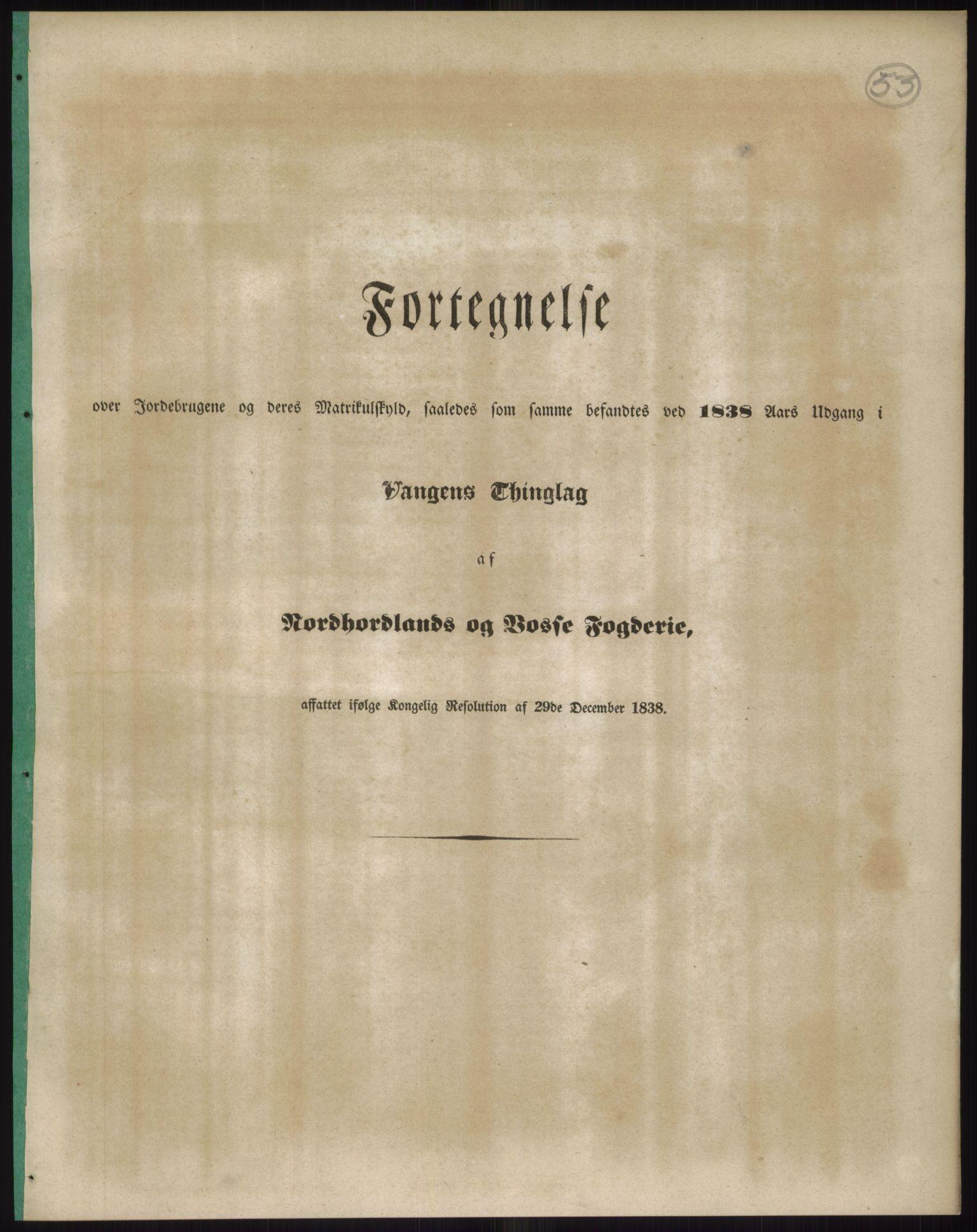PUBL, Andre publikasjoner, -/Bind 12: Søndre Bergenhus amt: Nordhordland og Voss fogderi, 1838, s. 94