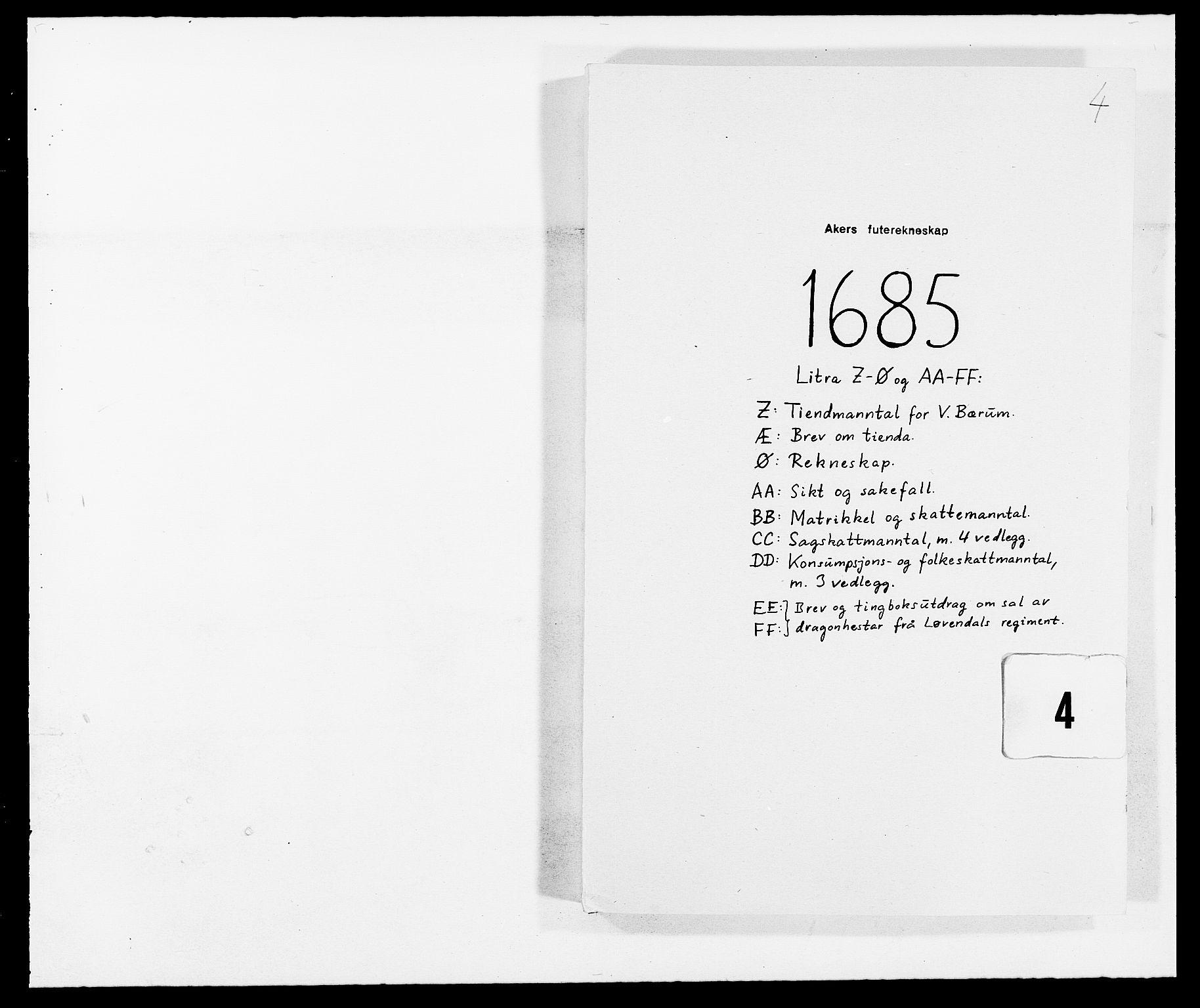 RA, Rentekammeret inntil 1814, Reviderte regnskaper, Fogderegnskap, R08/L0421: Fogderegnskap Aker, 1682-1683, s. 119