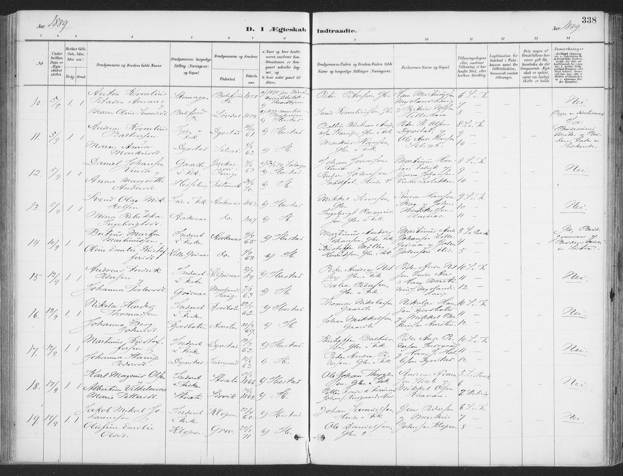 SATØ, Ibestad sokneprestembete, H/Ha/Haa/L0011kirke: Ministerialbok nr. 11, 1880-1889, s. 338