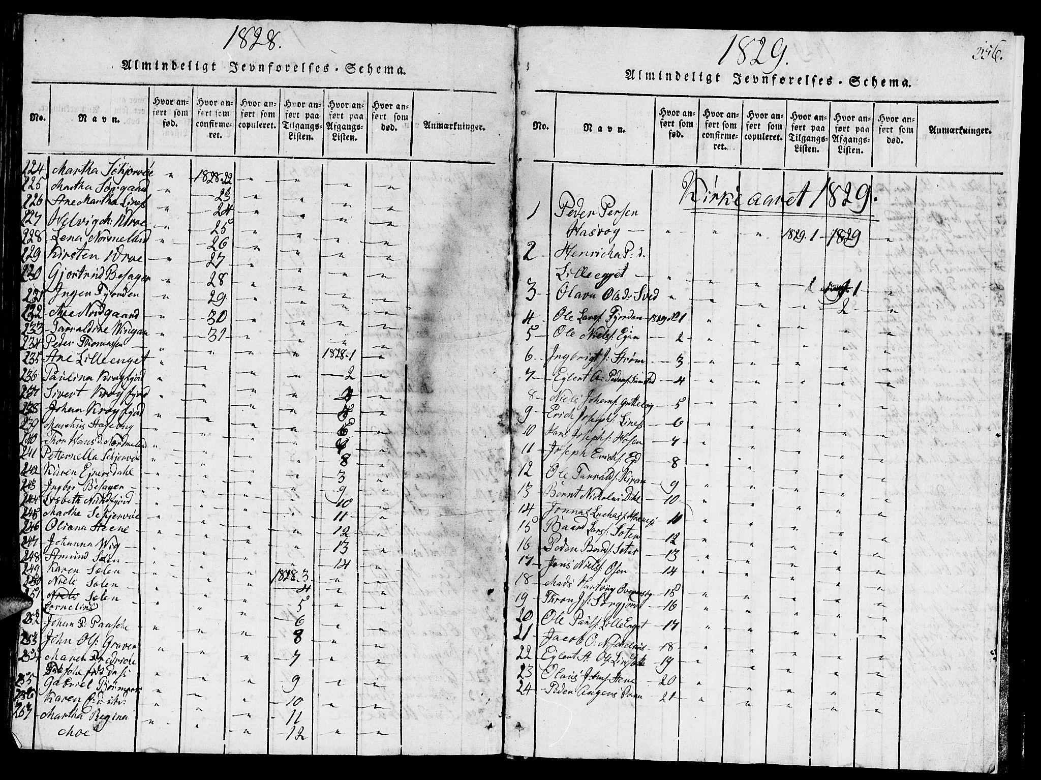 SAT, Ministerialprotokoller, klokkerbøker og fødselsregistre - Sør-Trøndelag, 657/L0714: Klokkerbok nr. 657C01, 1818-1868, s. 356