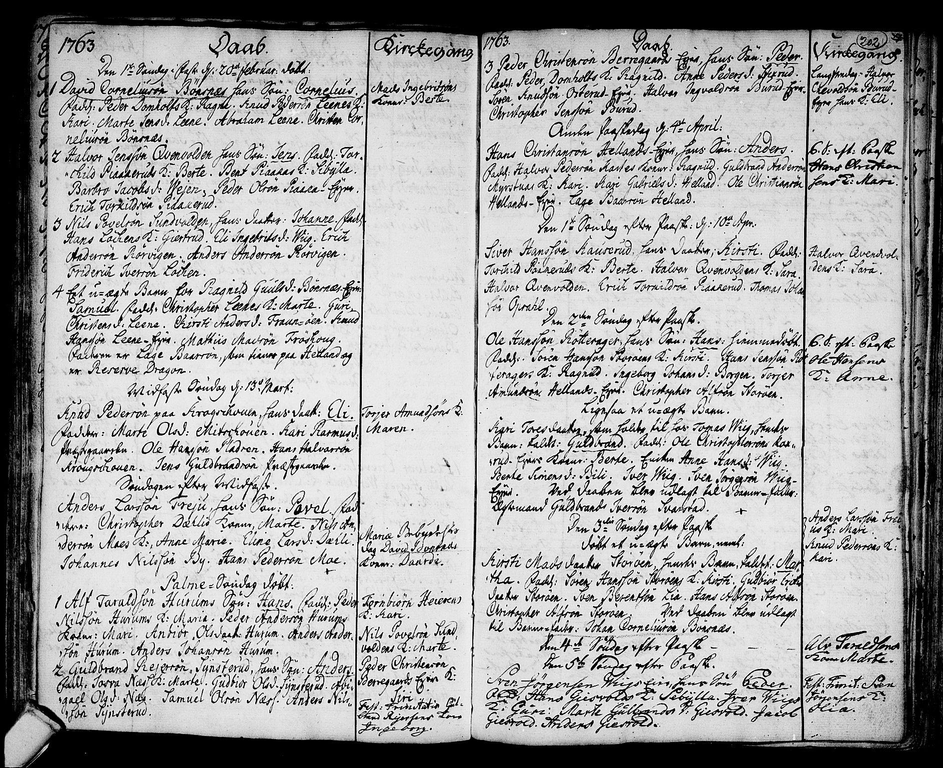SAKO, Hole kirkebøker, F/Fa/L0001: Ministerialbok nr. I 1, 1716-1765, s. 202