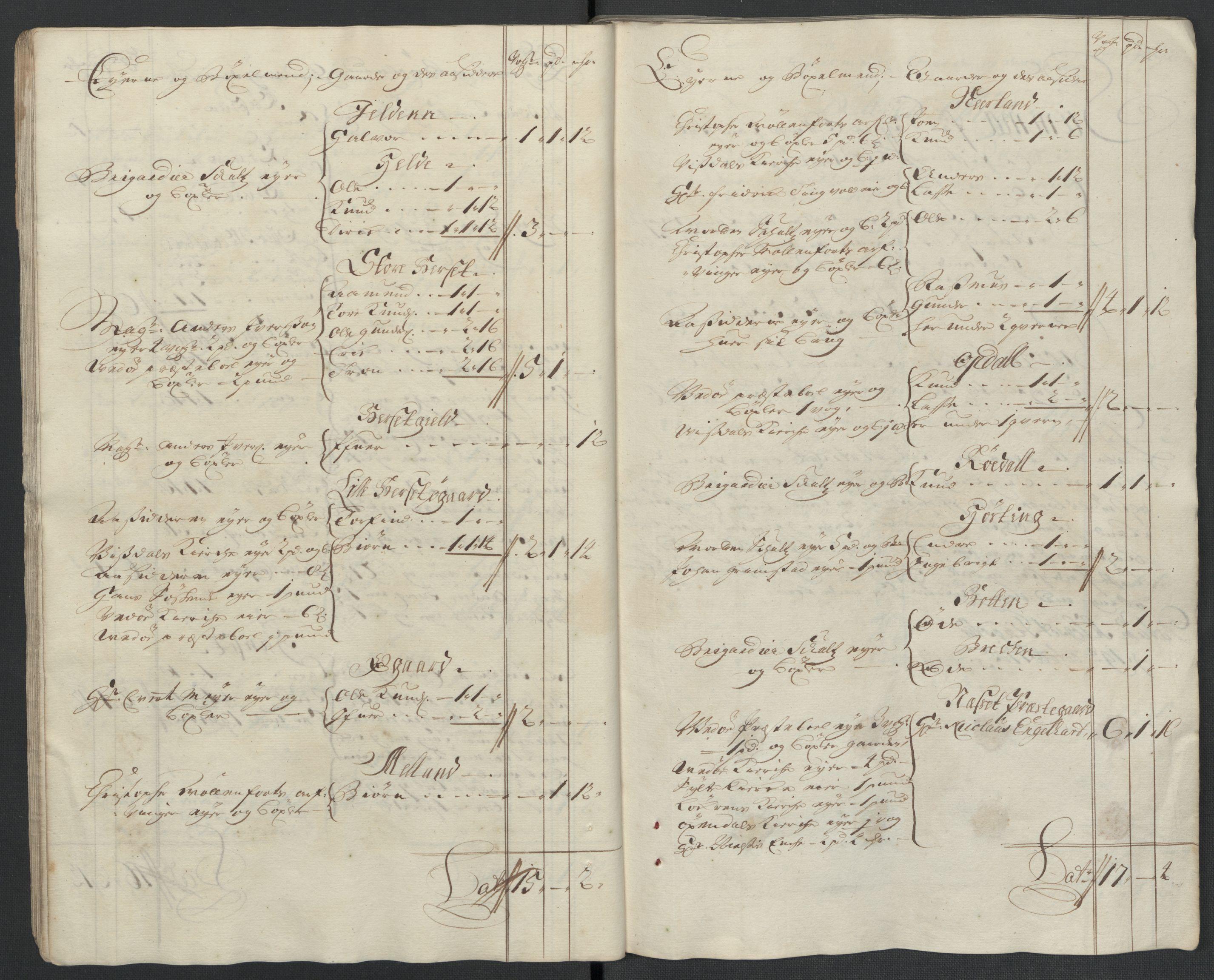 RA, Rentekammeret inntil 1814, Reviderte regnskaper, Fogderegnskap, R55/L3656: Fogderegnskap Romsdal, 1703-1705, s. 379