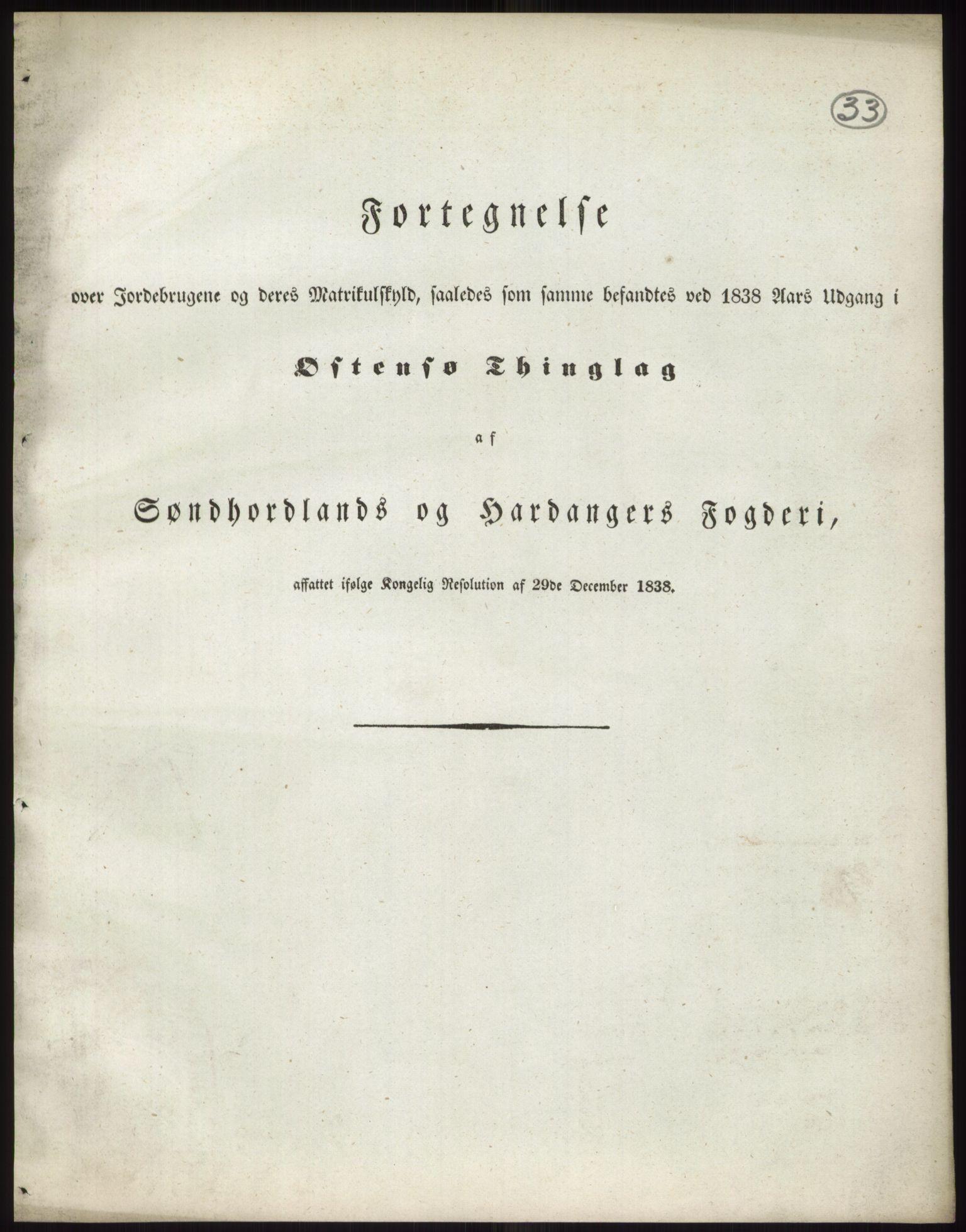 PUBL, Andre publikasjoner, -/Bind 11: Søndre Bergenhus amt: Sunnhordland og Hardanger fogderi, Stamhuset Rosendals gods og Lyse klosters gods, 1838, s. 57