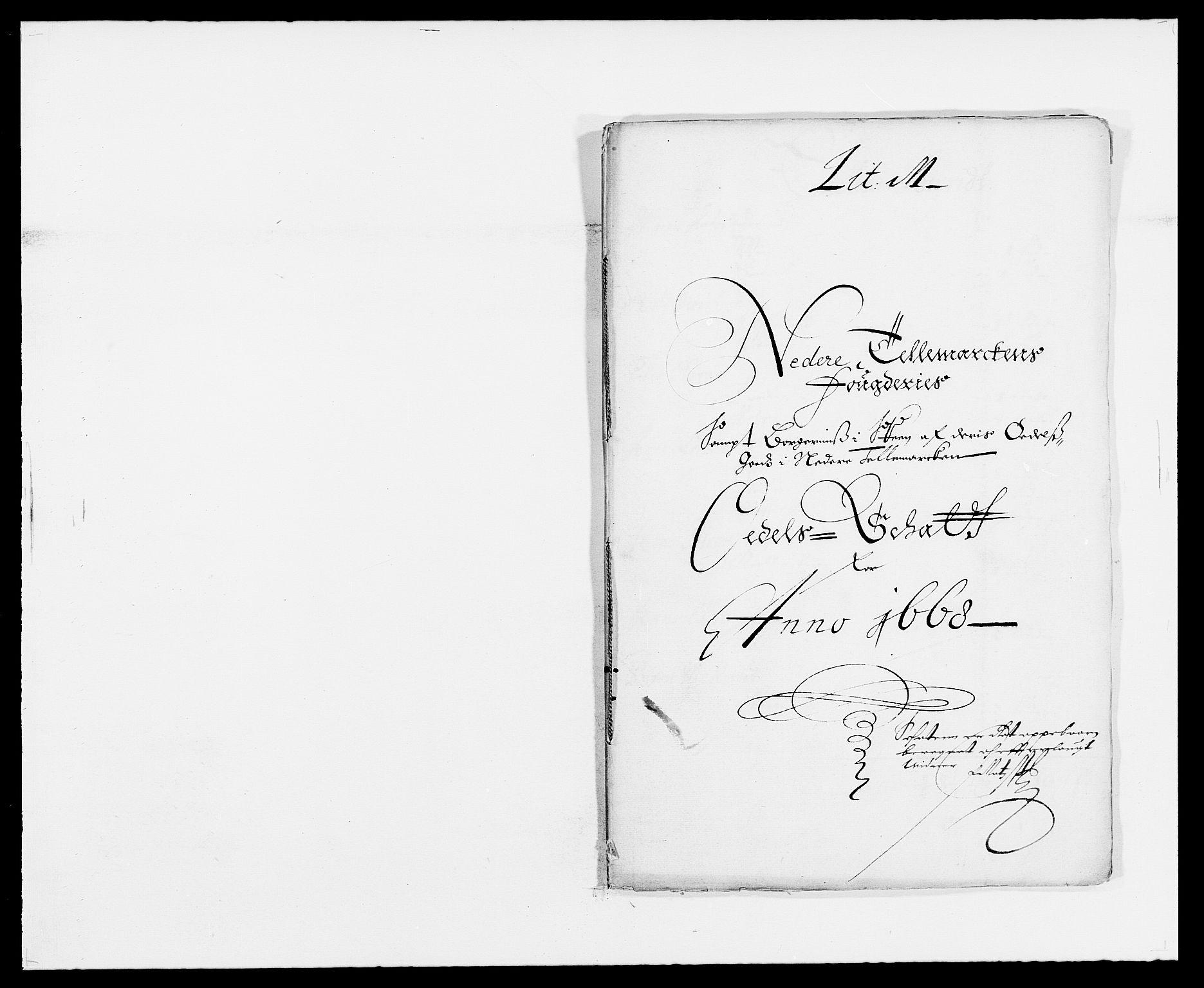 RA, Rentekammeret inntil 1814, Reviderte regnskaper, Fogderegnskap, R35/L2058: Fogderegnskap Øvre og Nedre Telemark, 1668-1670, s. 239