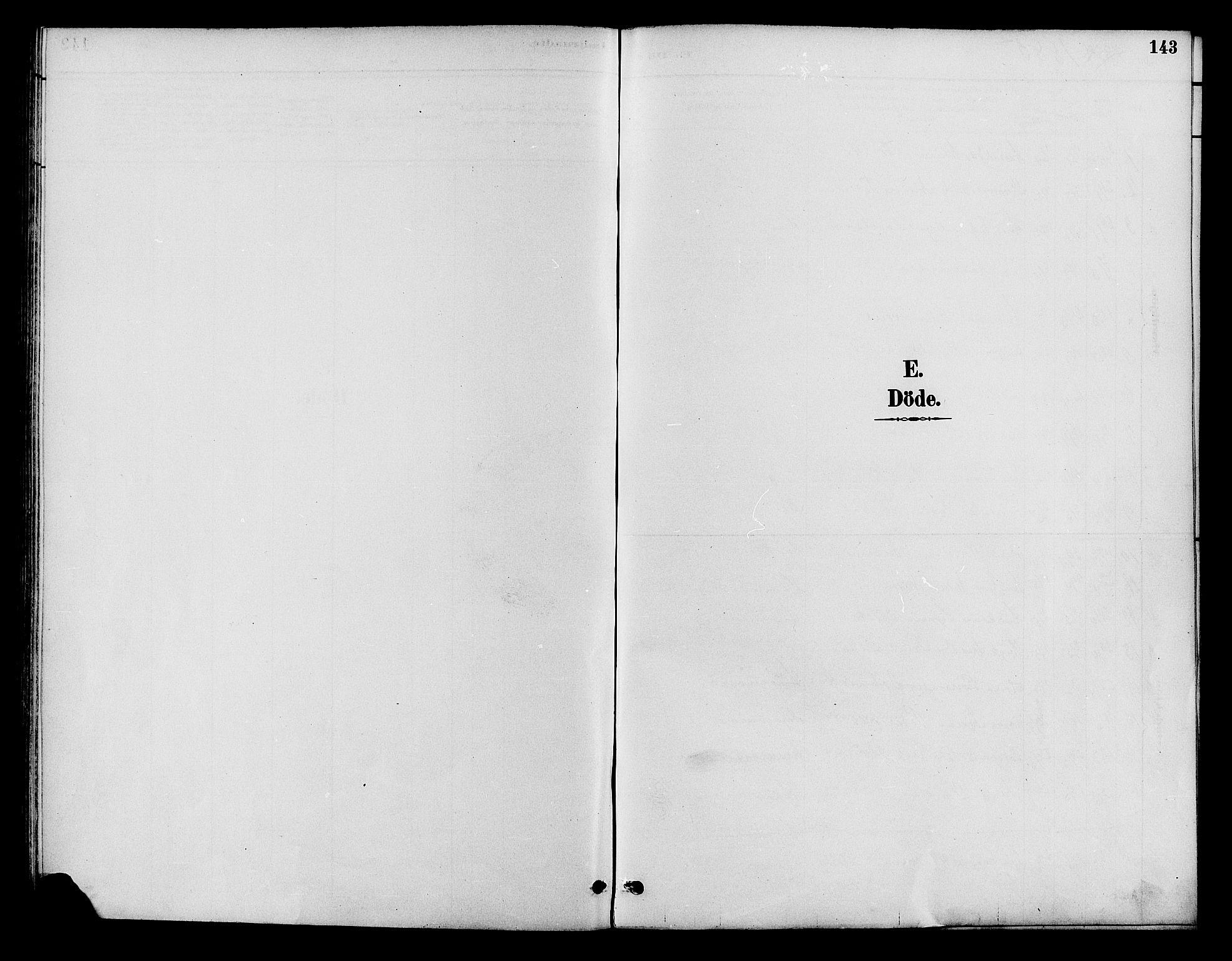 SAH, Lom prestekontor, K/L0008: Ministerialbok nr. 8, 1885-1898, s. 143