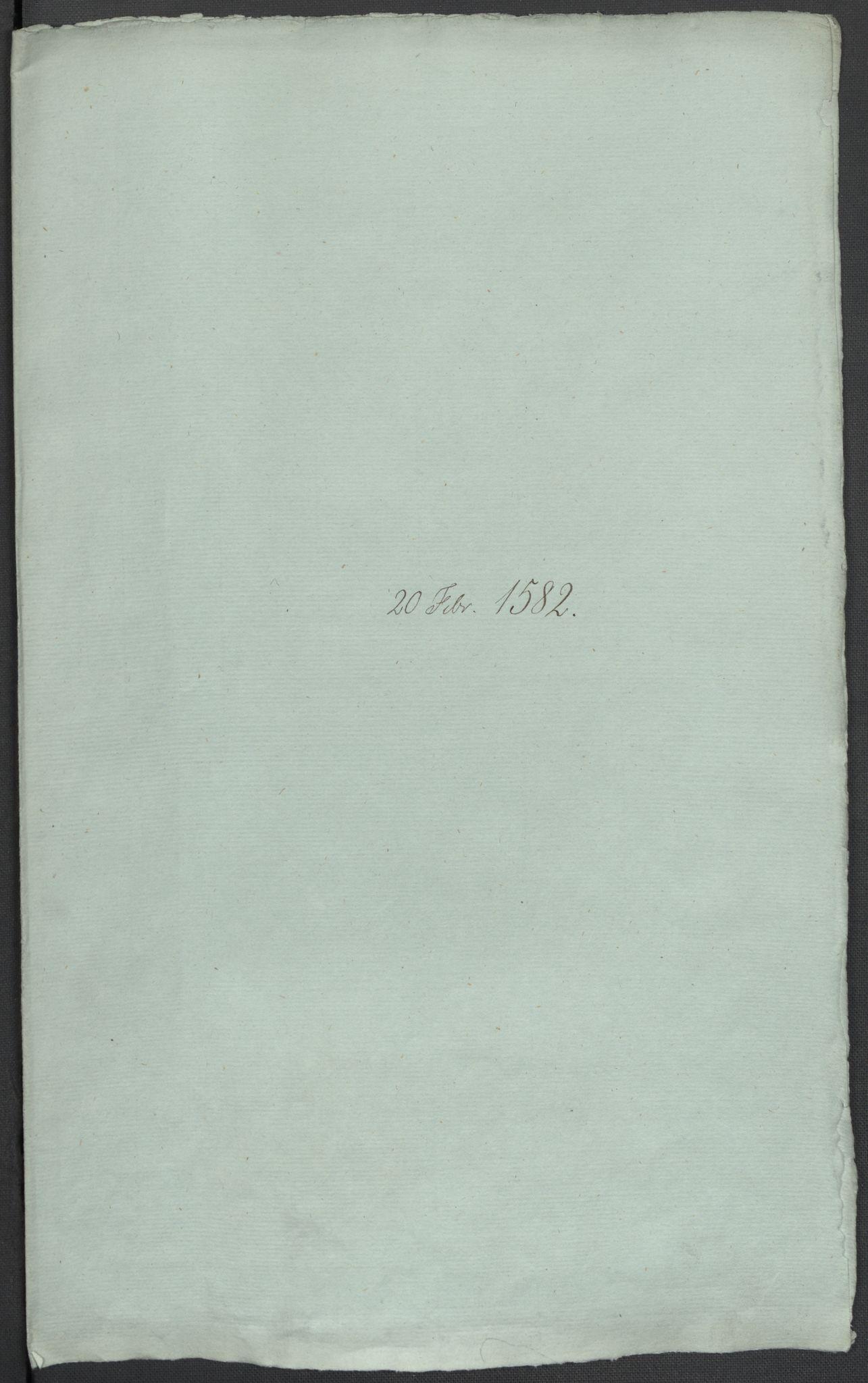 RA, Riksarkivets diplomsamling, F02/L0084: Dokumenter, 1582, s. 6