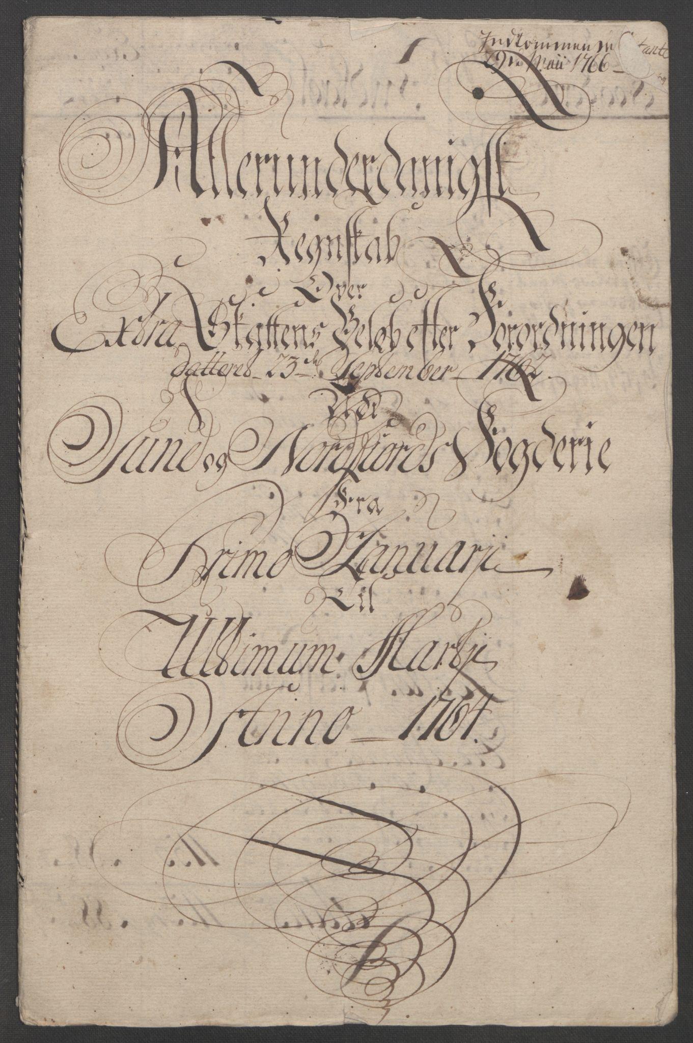 RA, Rentekammeret inntil 1814, Reviderte regnskaper, Fogderegnskap, R53/L3550: Ekstraskatten Sunn- og Nordfjord, 1762-1771, s. 68