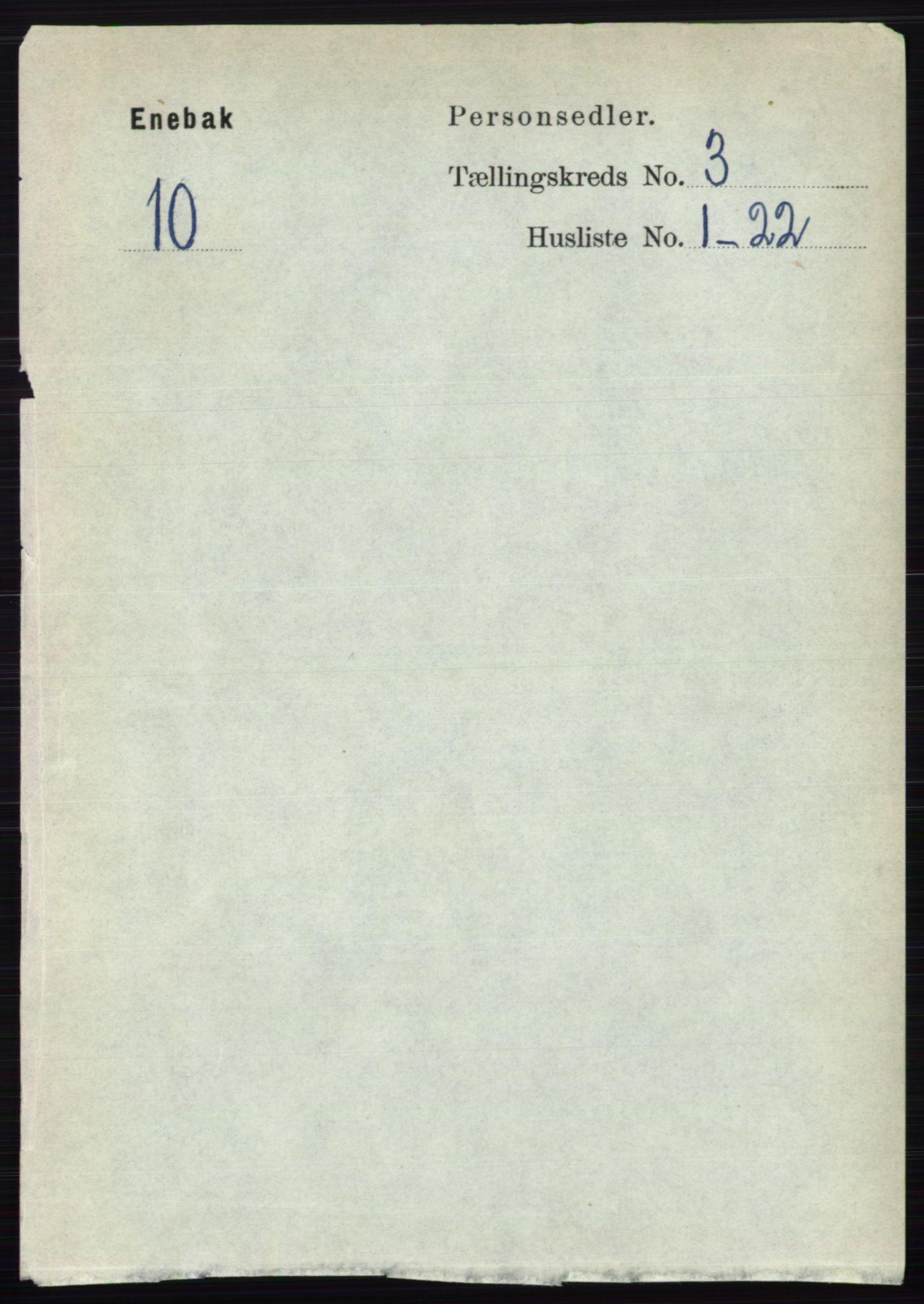 RA, Folketelling 1891 for 0229 Enebakk herred, 1891, s. 1119