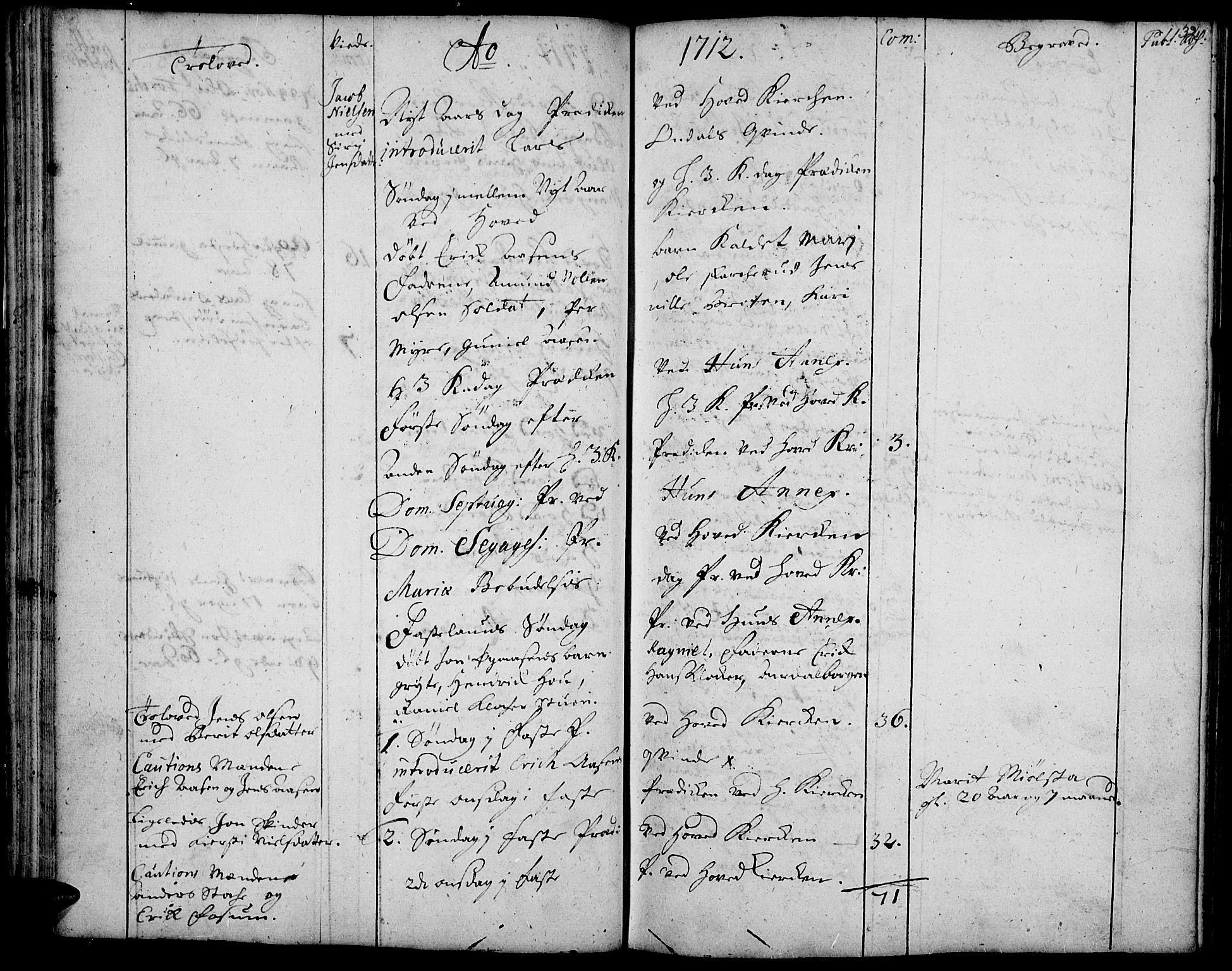SAH, Vardal prestekontor, H/Ha/Haa/L0001: Ministerialbok nr. 1, 1706-1748, s. 32