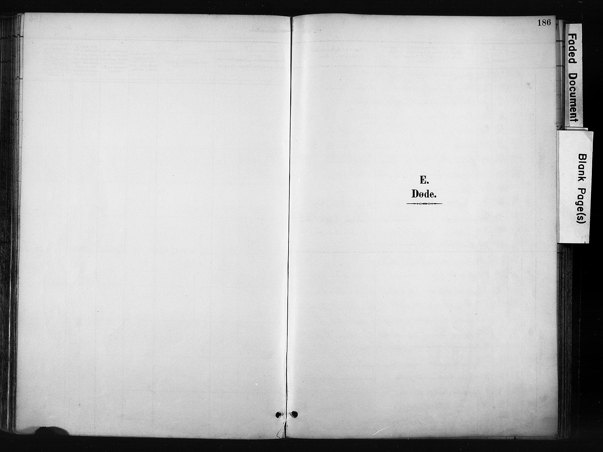 SAH, Gran prestekontor, Ministerialbok nr. 17, 1889-1897, s. 186
