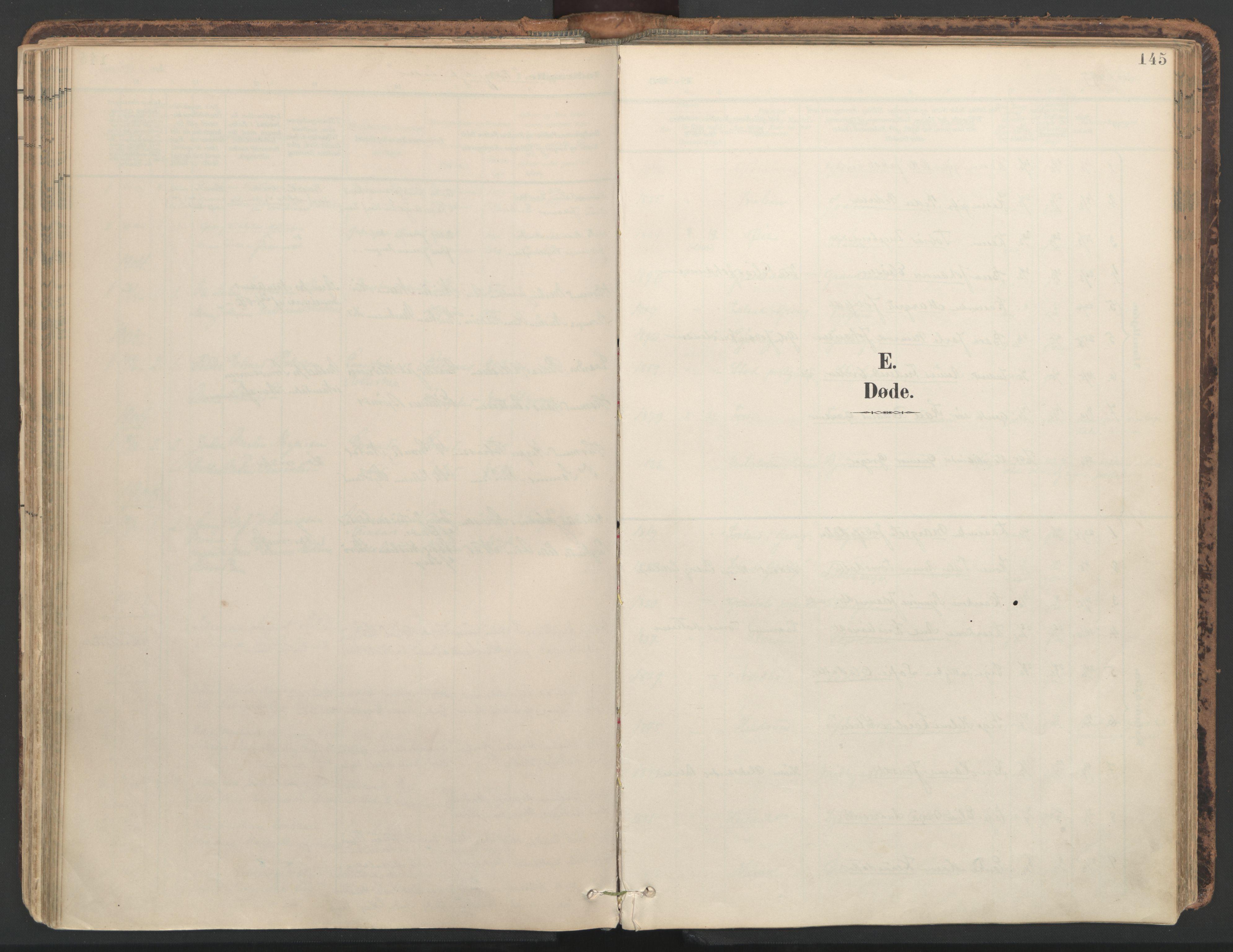 SAT, Ministerialprotokoller, klokkerbøker og fødselsregistre - Nord-Trøndelag, 764/L0556: Ministerialbok nr. 764A11, 1897-1924, s. 145