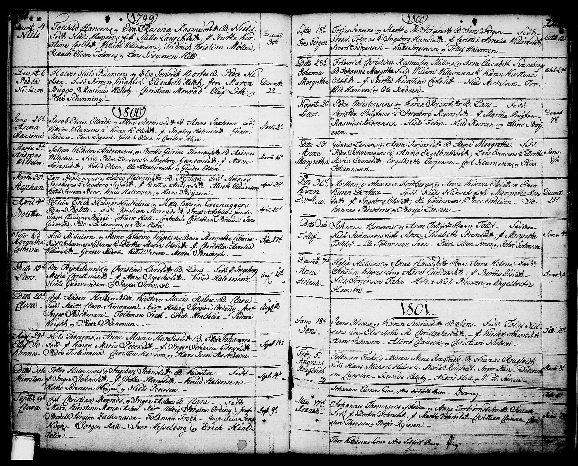 SAKO, Porsgrunn kirkebøker , F/Fa/L0001: Ministerialbok nr. 1, 1764-1814, s. 220-221