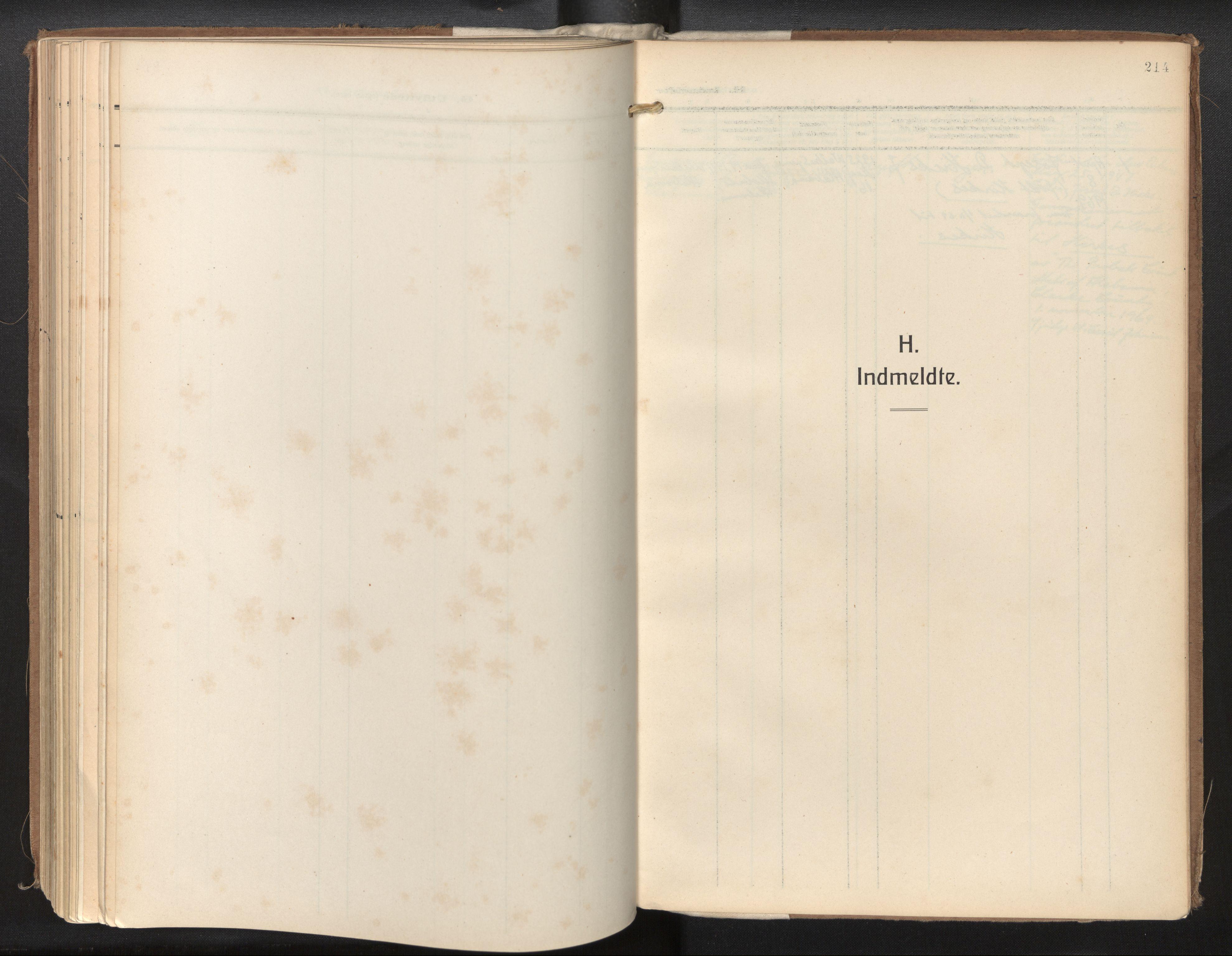 SAB, Privatarkiv 115 - Den norske sjømannsmisjon i utlandet/New Orleans-Mobile-Gulfhavnene, H/Ha/L0001: Ministerialbok nr. A 1, 1927-1978, s. 213b-214a