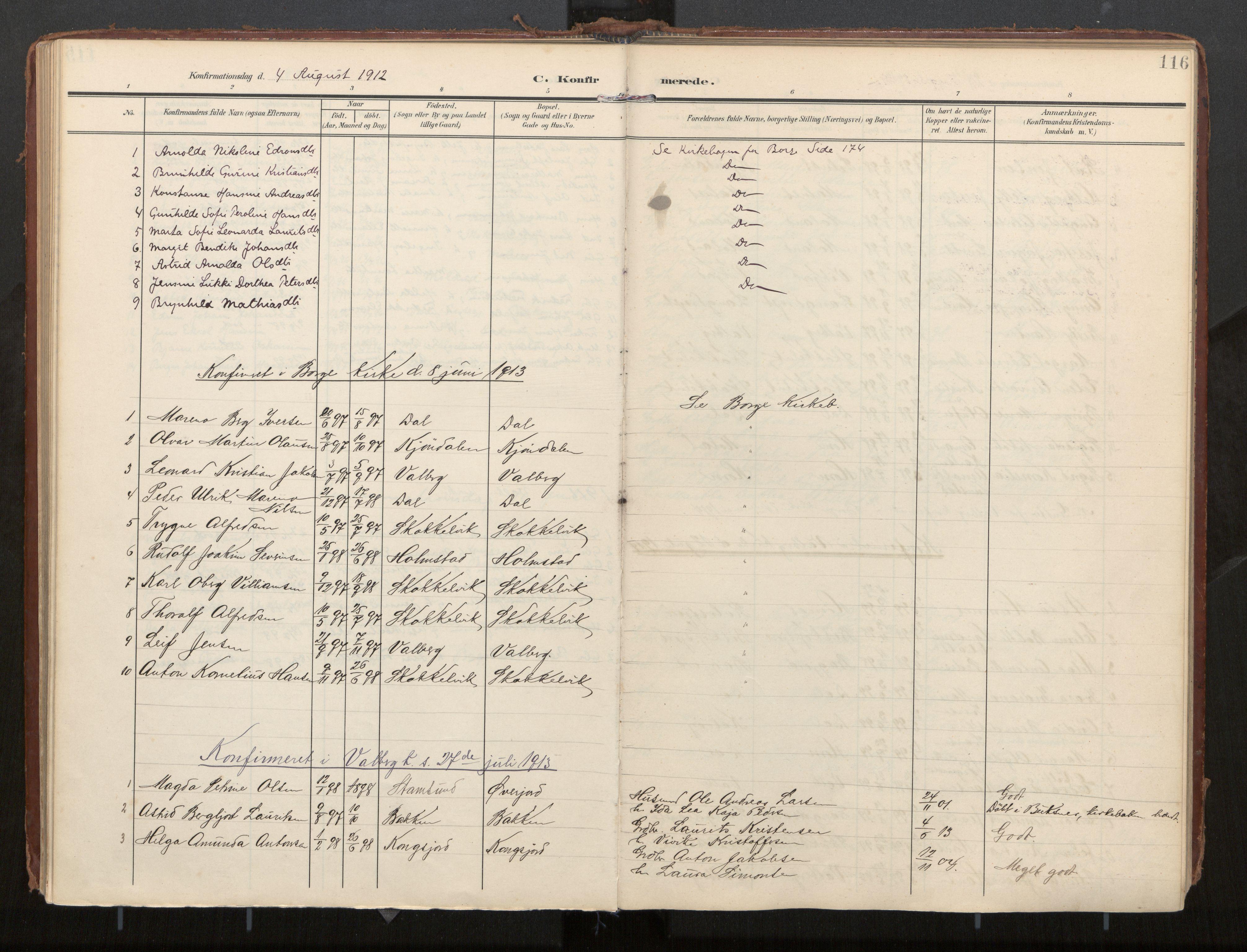 SAT, Ministerialprotokoller, klokkerbøker og fødselsregistre - Nordland, 884/L1194: Ministerialbok nr. 884A02, 1906-1937, s. 116