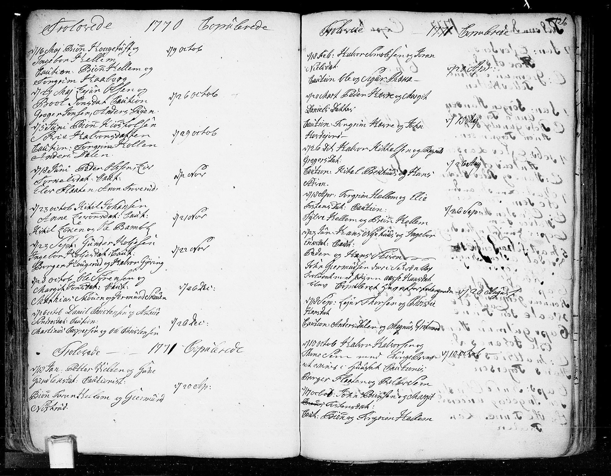 SAKO, Heddal kirkebøker, F/Fa/L0003: Ministerialbok nr. I 3, 1723-1783, s. 126