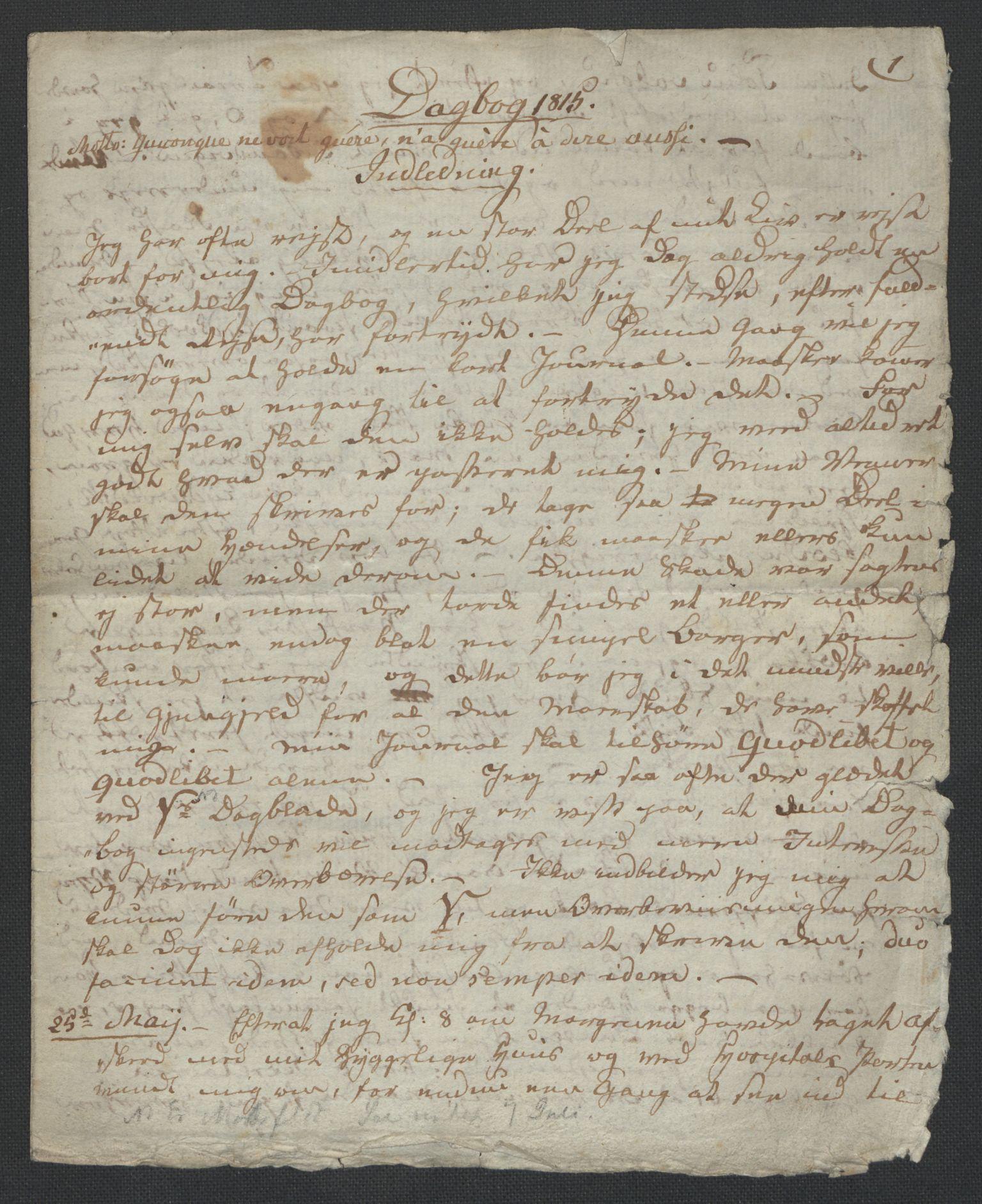 RA, Christie, Wilhelm Frimann Koren, F/L0005, 1815-1816, s. 6