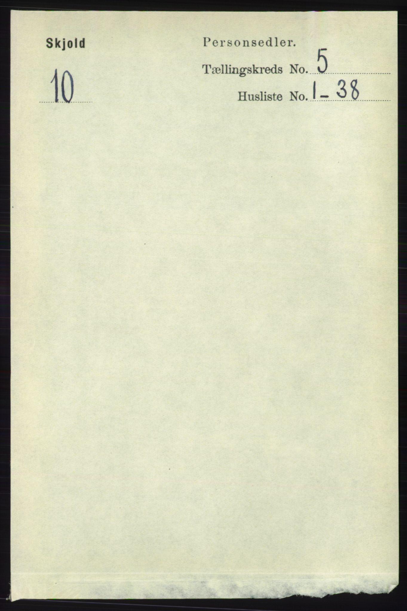RA, Folketelling 1891 for 1154 Skjold herred, 1891, s. 768