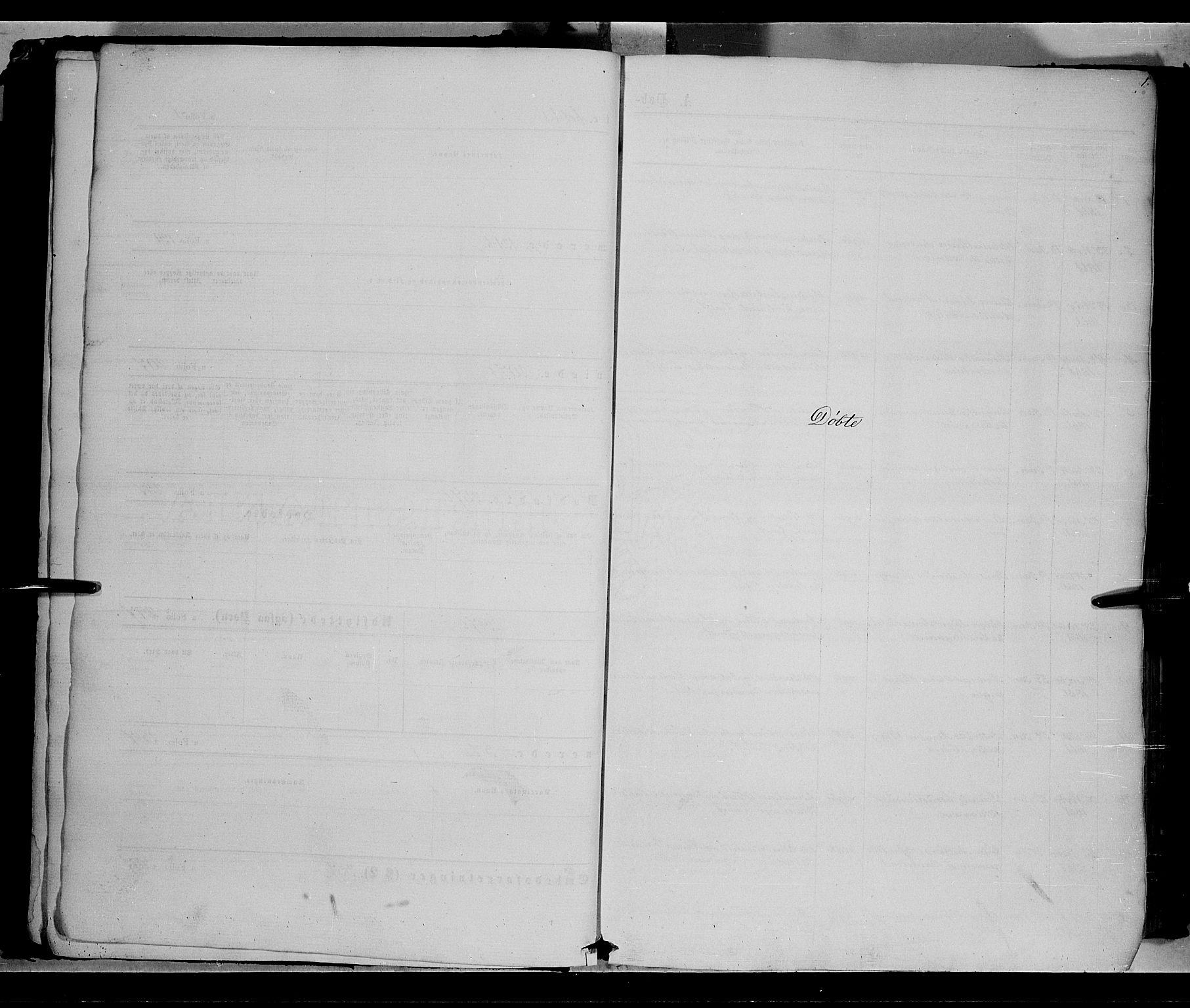 SAH, Vestre Toten prestekontor, Ministerialbok nr. 7, 1862-1869, s. 1