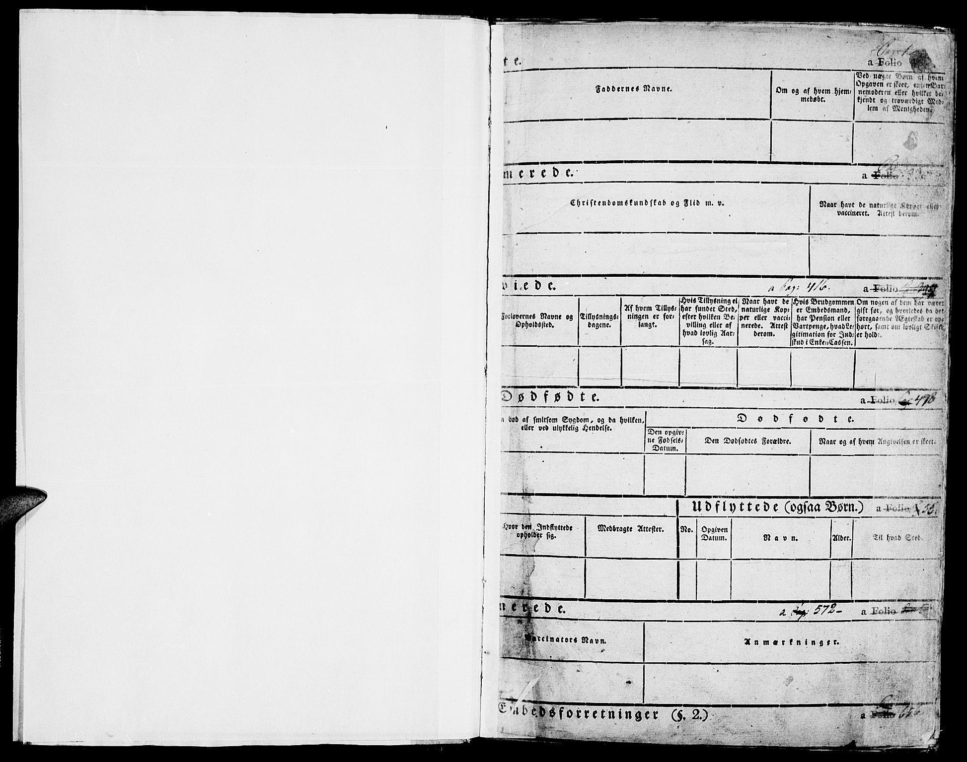 SAH, Lom prestekontor, K/L0005: Ministerialbok nr. 5, 1825-1837