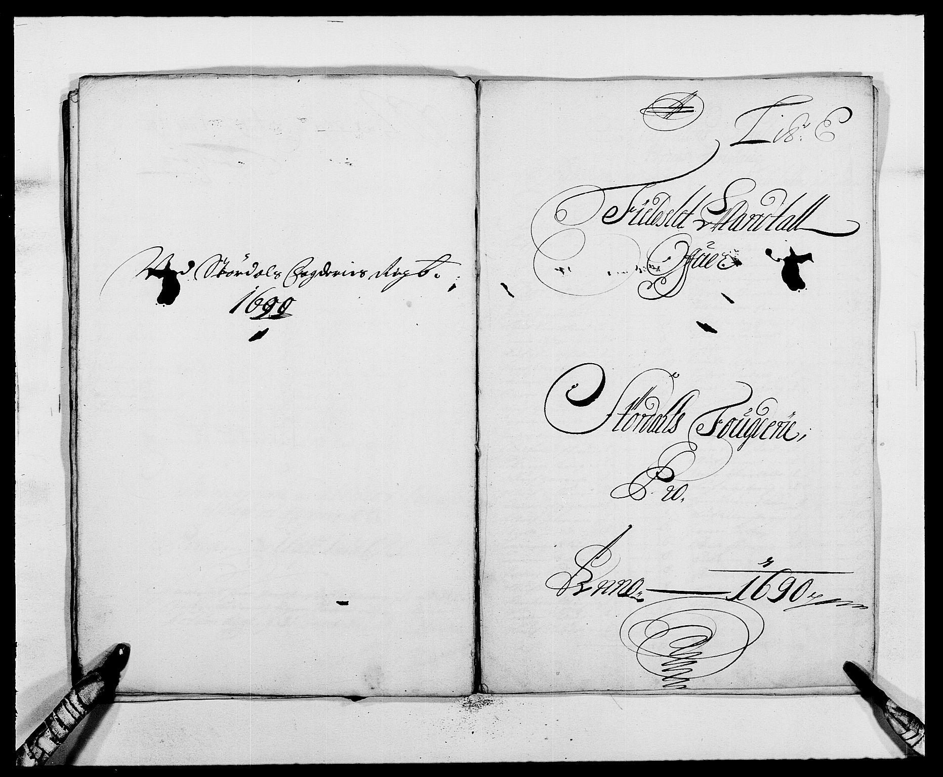 RA, Rentekammeret inntil 1814, Reviderte regnskaper, Fogderegnskap, R62/L4184: Fogderegnskap Stjørdal og Verdal, 1690-1691, s. 89