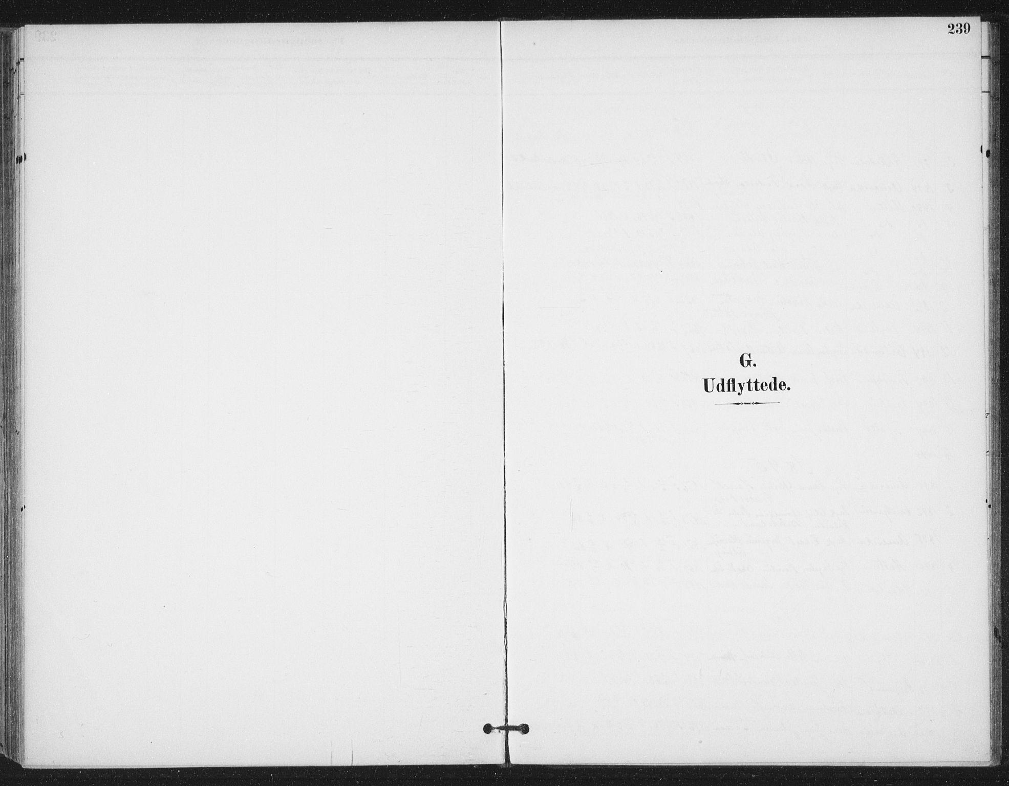 SAT, Ministerialprotokoller, klokkerbøker og fødselsregistre - Sør-Trøndelag, 657/L0708: Ministerialbok nr. 657A09, 1894-1904, s. 239