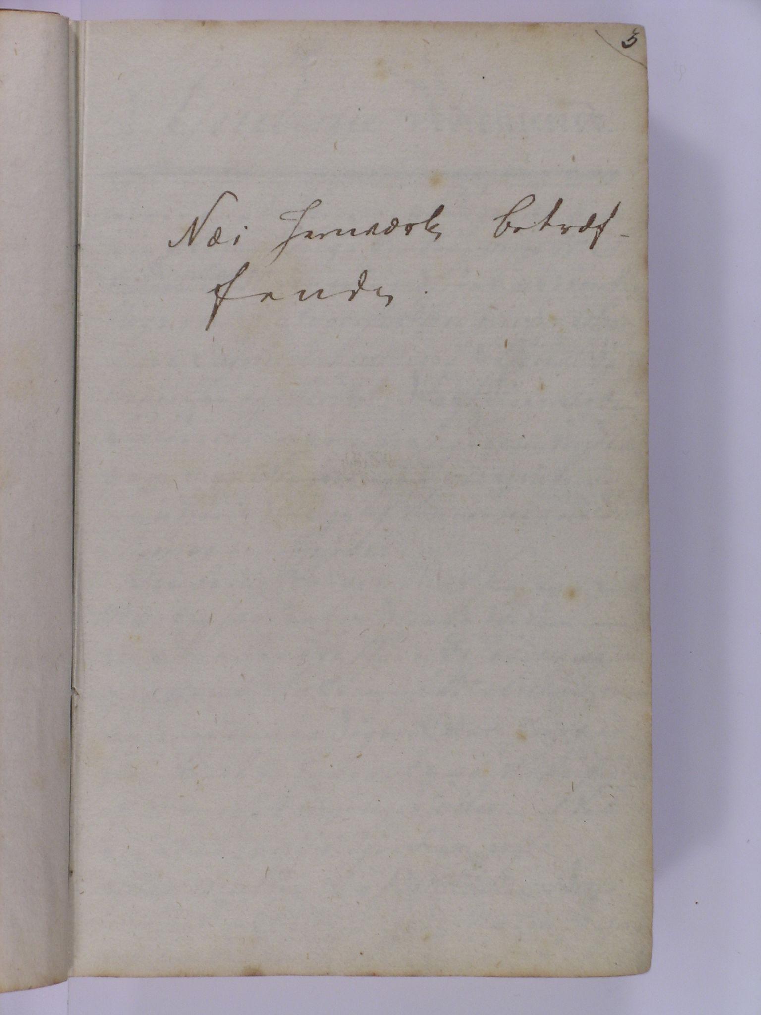 NESJ, Baaseland Jernverk og Næs Jernverk, 01/L0001: Næs Jærnværk betræffende, 1799
