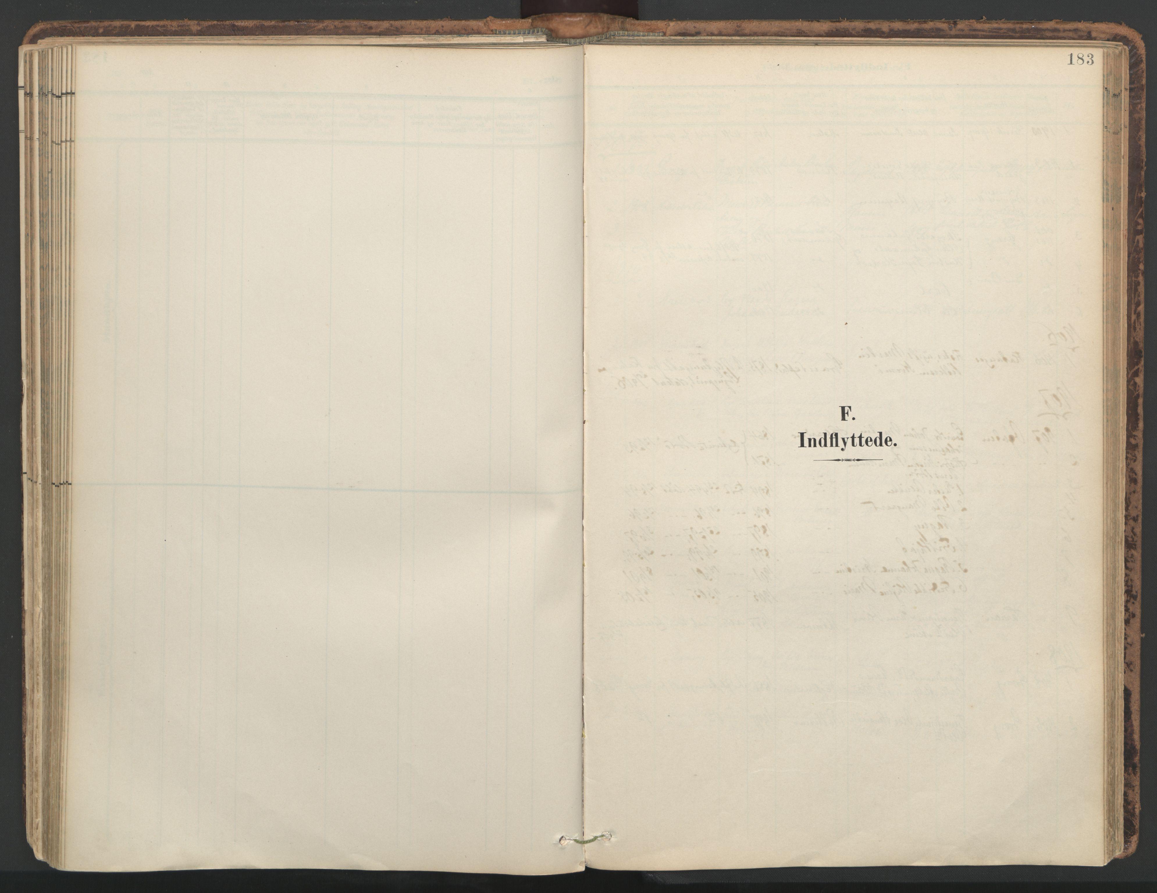 SAT, Ministerialprotokoller, klokkerbøker og fødselsregistre - Nord-Trøndelag, 764/L0556: Ministerialbok nr. 764A11, 1897-1924, s. 183