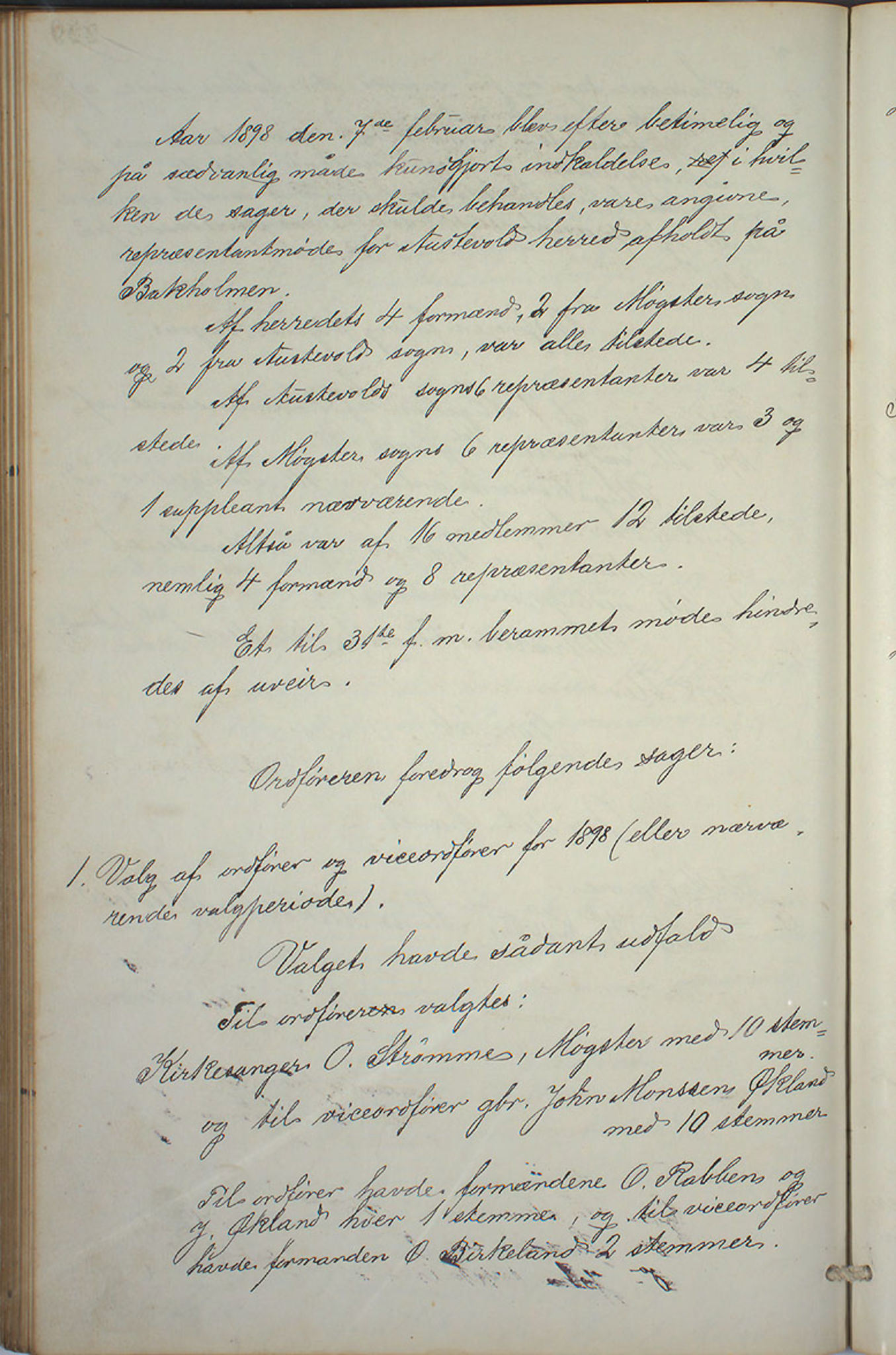 IKAH, Austevoll kommune. Formannskapet, A/Aa/L0001: Østervolds Herredsforhandlings-protokoll, 1886-1900, s. 457