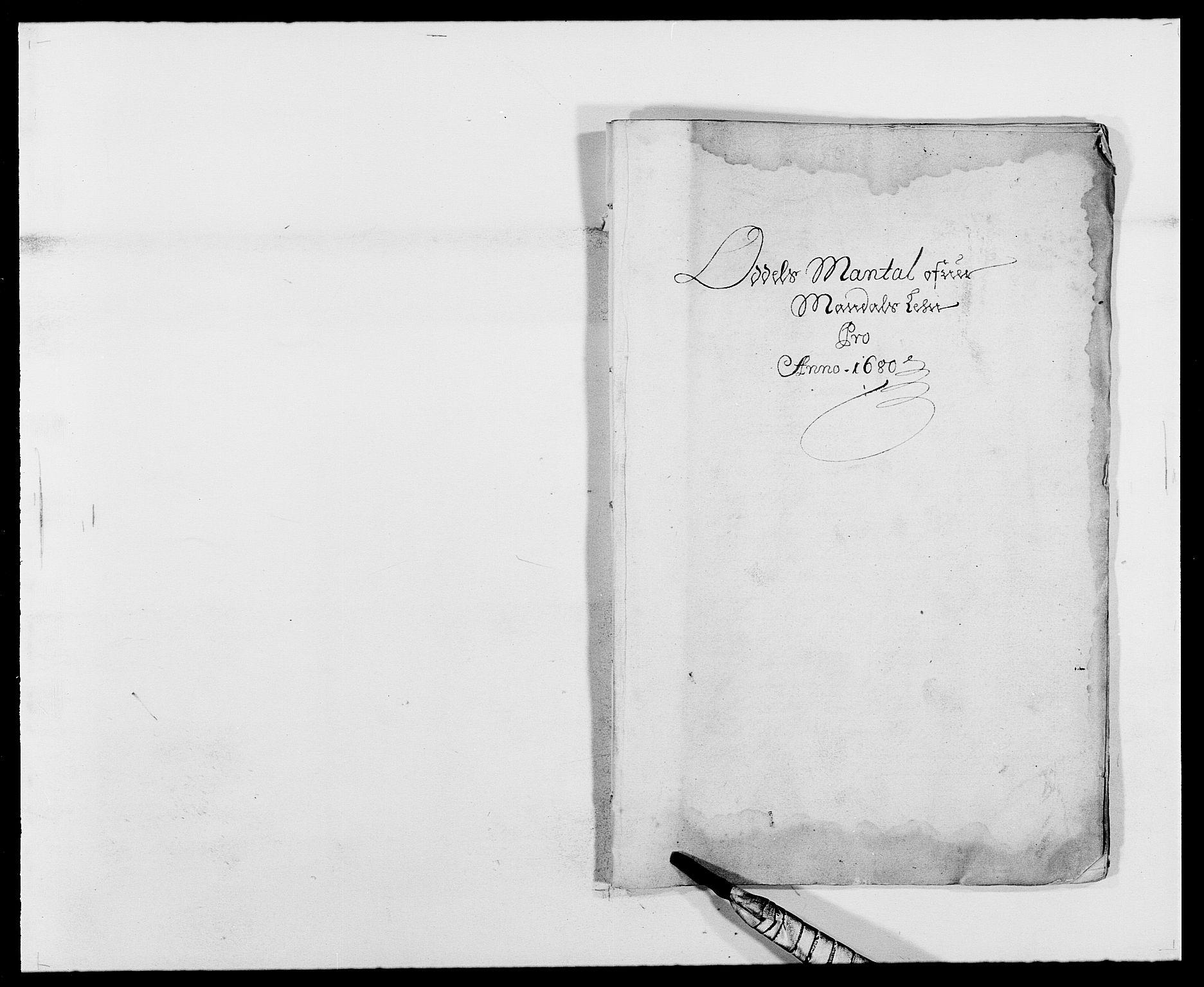 RA, Rentekammeret inntil 1814, Reviderte regnskaper, Fogderegnskap, R42/L2540: Mandal fogderi, 1676-1680, s. 193