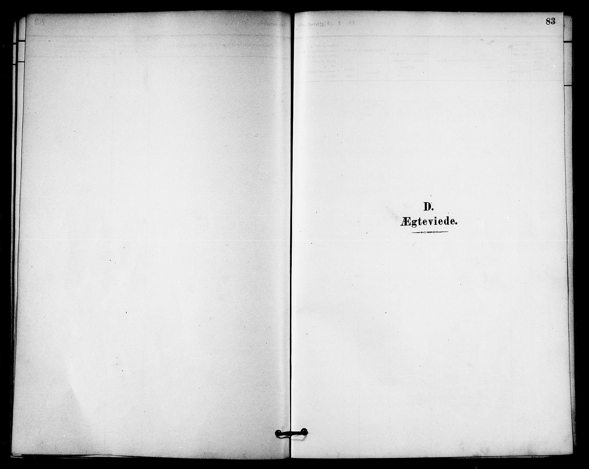 SAT, Ministerialprotokoller, klokkerbøker og fødselsregistre - Nord-Trøndelag, 740/L0378: Ministerialbok nr. 740A01, 1881-1895, s. 83