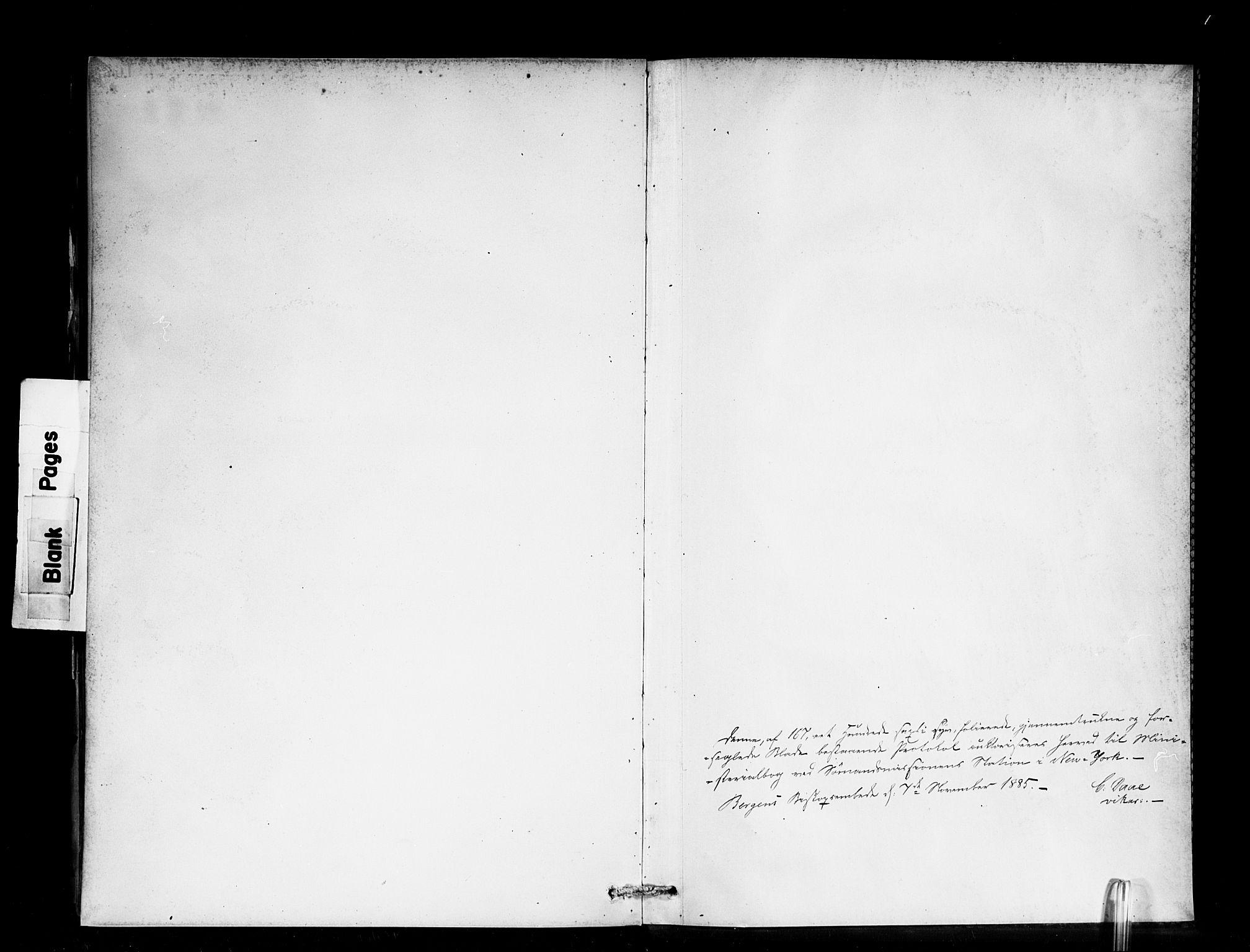 SAB, Den Norske Sjømannsmisjon i utlandet*, Ministerialbok nr. A 2, 1886-1888