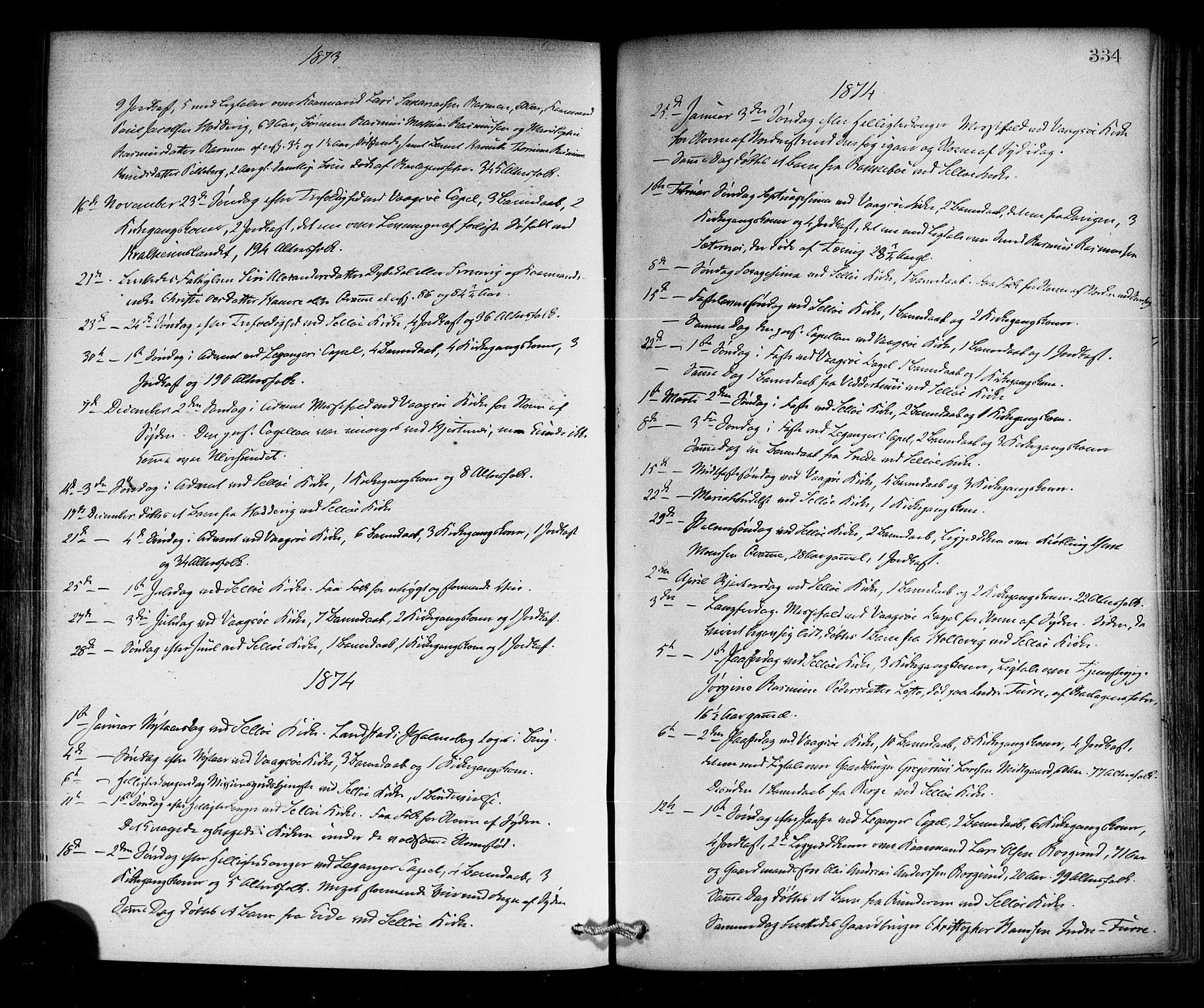 SAB, Selje sokneprestembete*, Ministerialbok nr. A 12, 1870-1880, s. 334