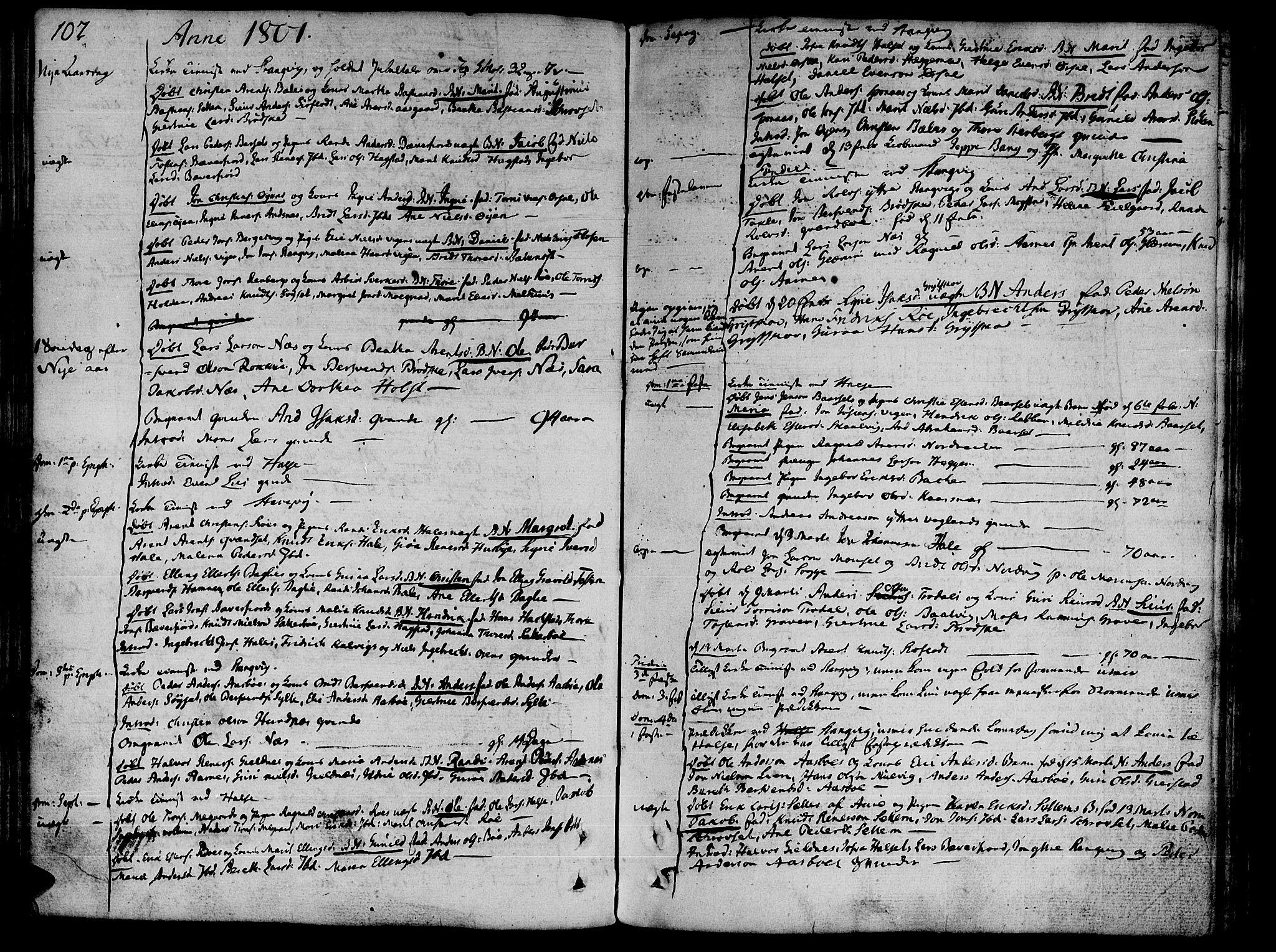 SAT, Ministerialprotokoller, klokkerbøker og fødselsregistre - Møre og Romsdal, 592/L1022: Ministerialbok nr. 592A01, 1784-1819, s. 102