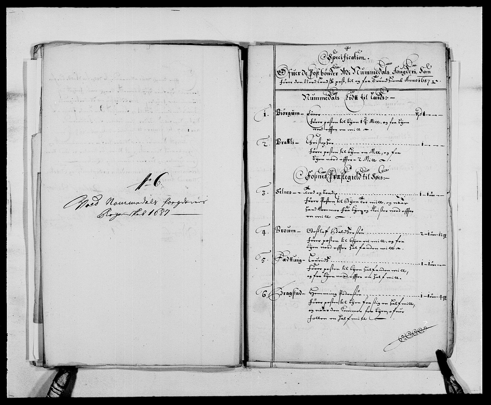 RA, Rentekammeret inntil 1814, Reviderte regnskaper, Fogderegnskap, R64/L4422: Fogderegnskap Namdal, 1687-1689, s. 83