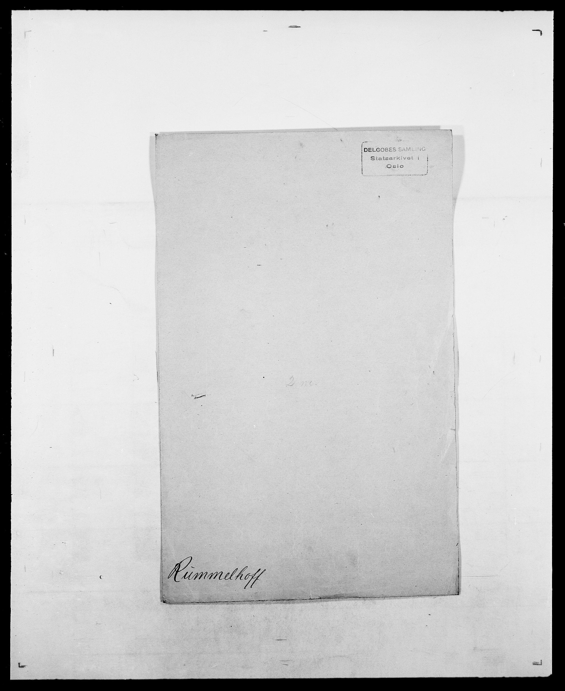 SAO, Delgobe, Charles Antoine - samling, D/Da/L0033: Roald - Røyem, s. 459