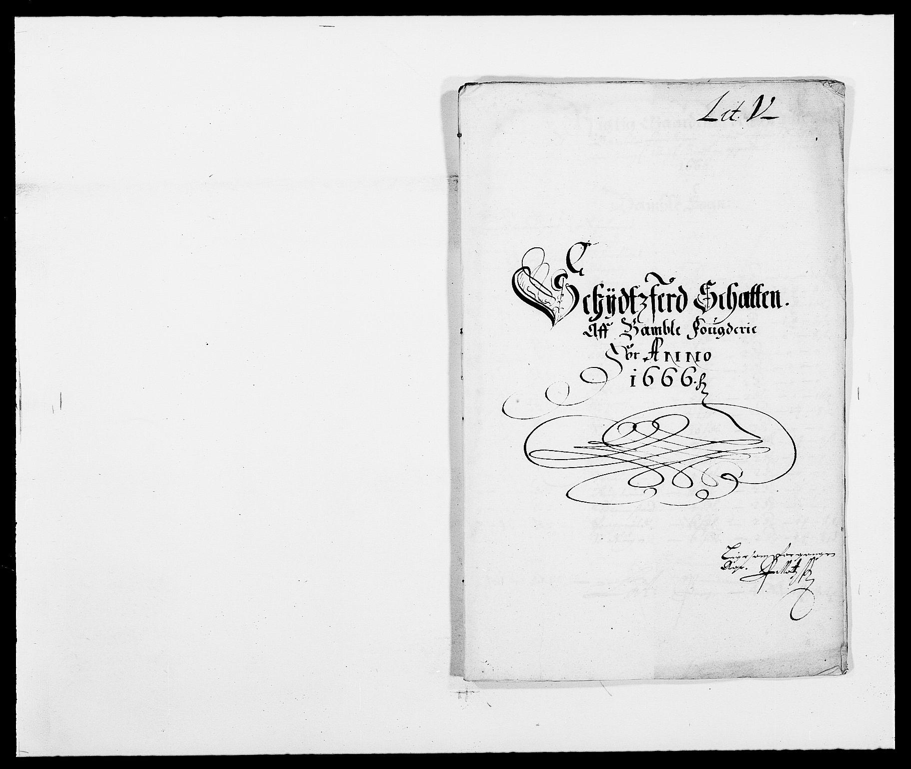 RA, Rentekammeret inntil 1814, Reviderte regnskaper, Fogderegnskap, R34/L2039: Fogderegnskap Bamble, 1662-1669, s. 52